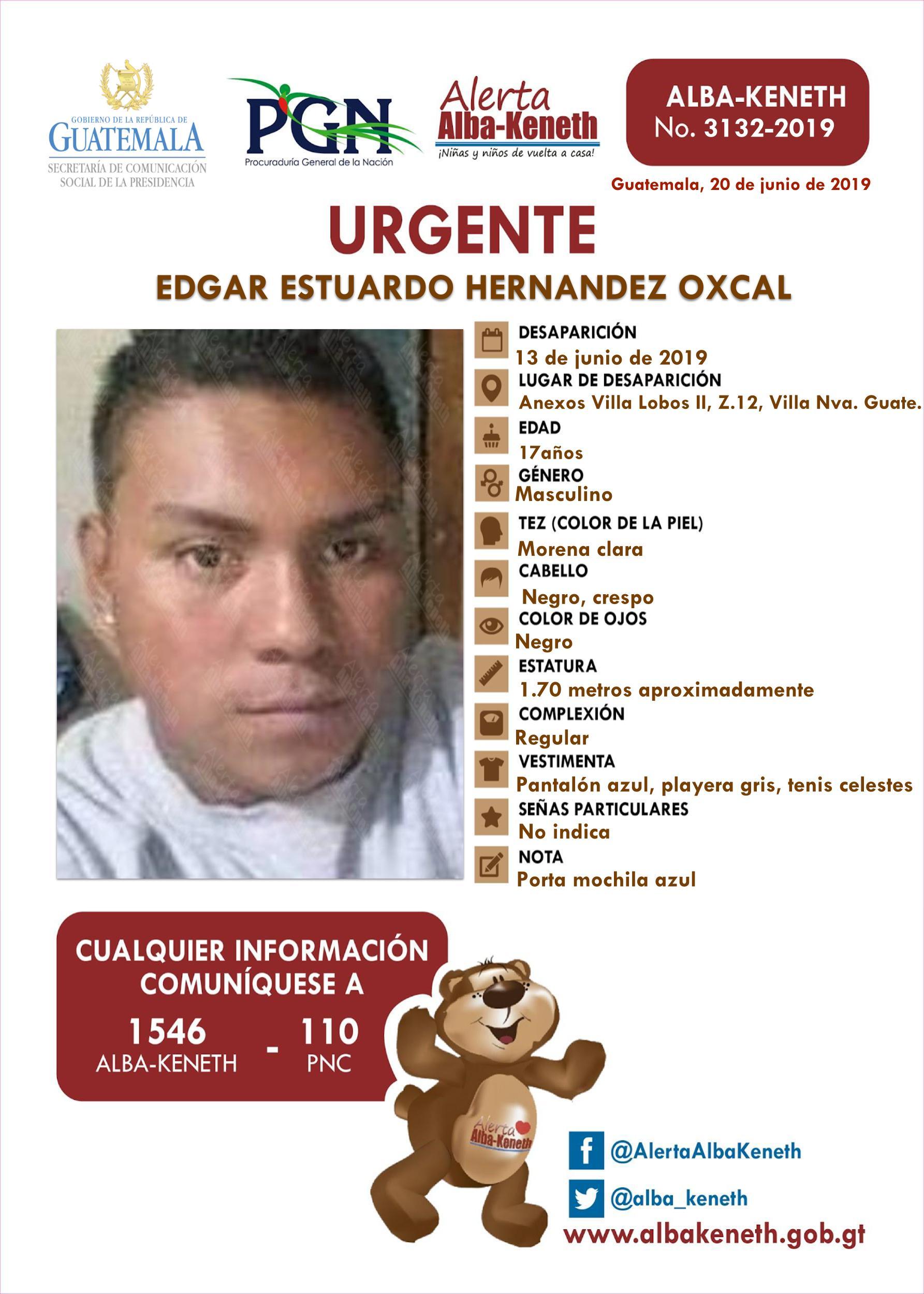 Edgar Estuardo Hernandez Oxcal