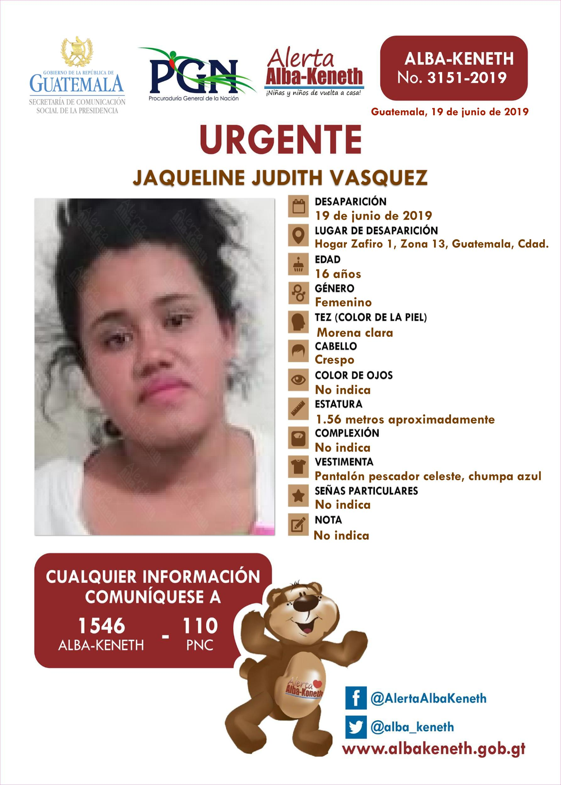 Jaqueline Judith Vasquez