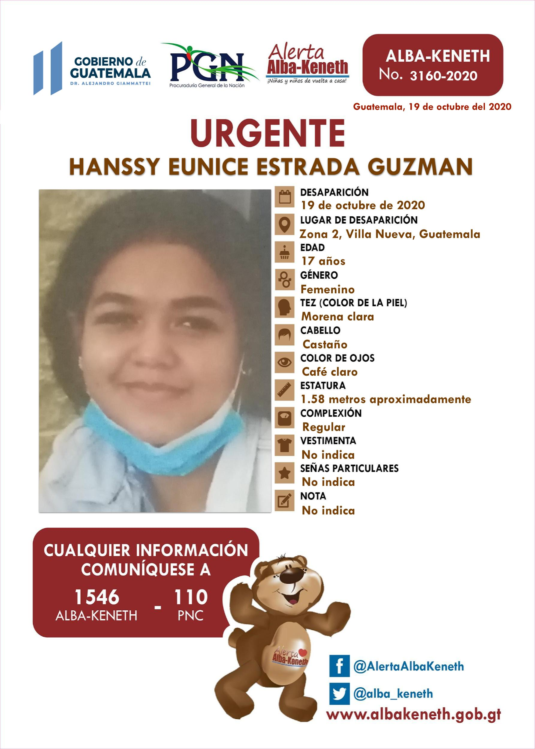 Hanssy Eunice Estrada Guzman