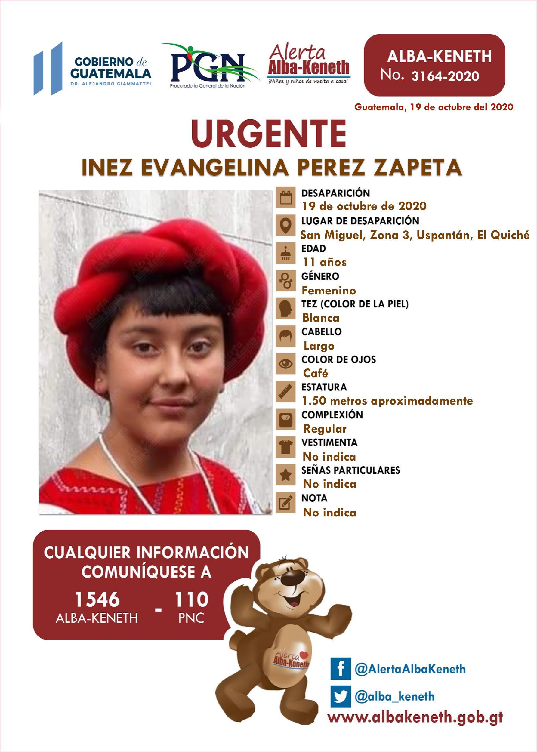 Inez Evangelina Perez Zapeta