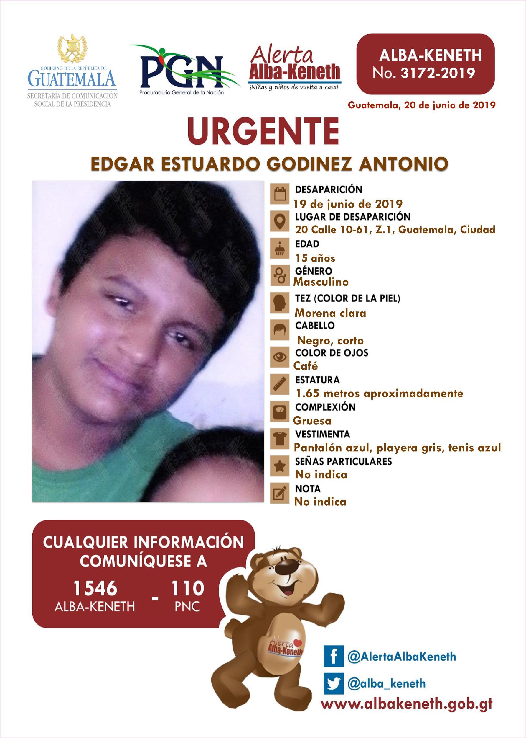 Edgar Estuardo Godinez Antonio