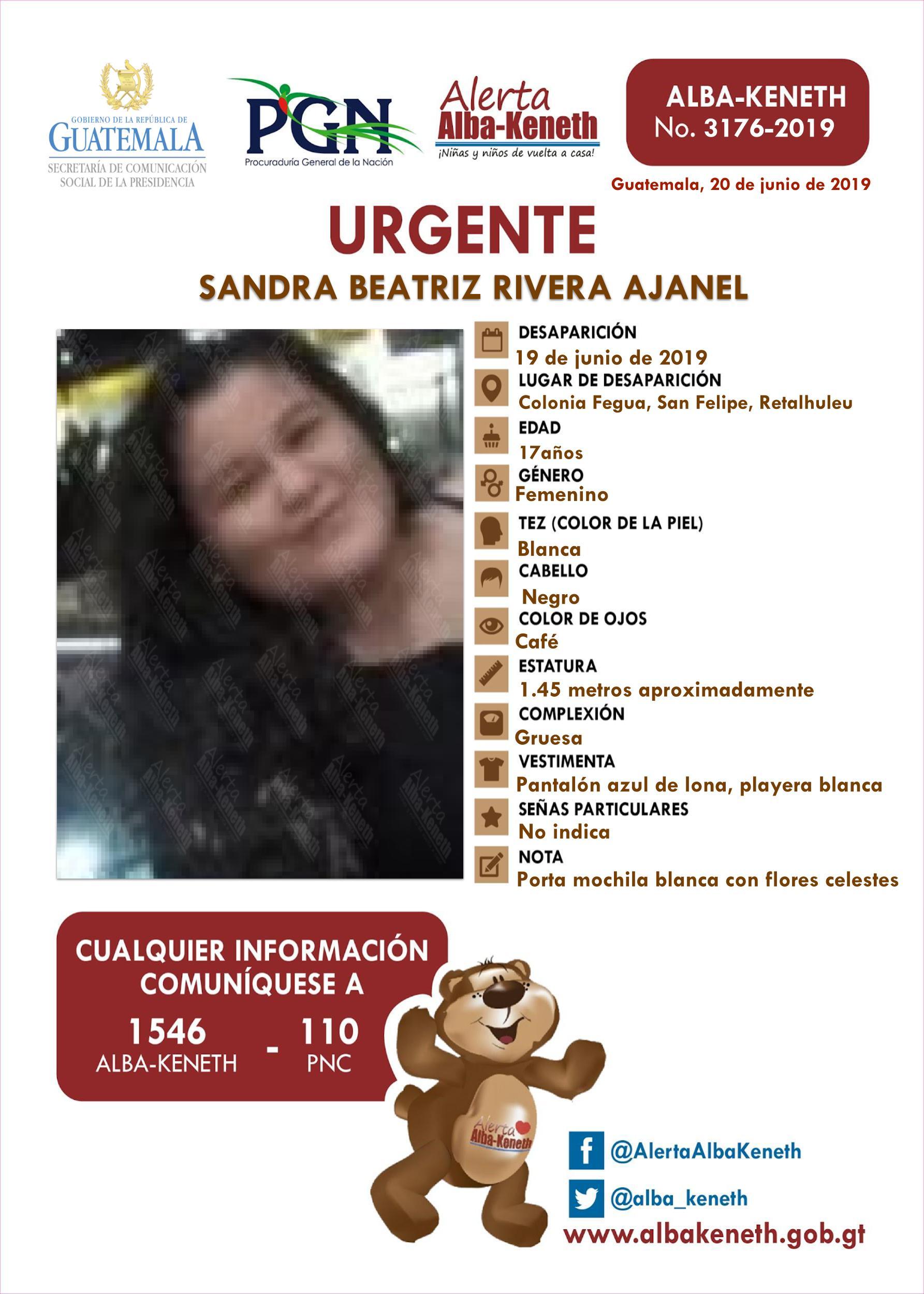 Sandra Beatriz Rivera Ajanel