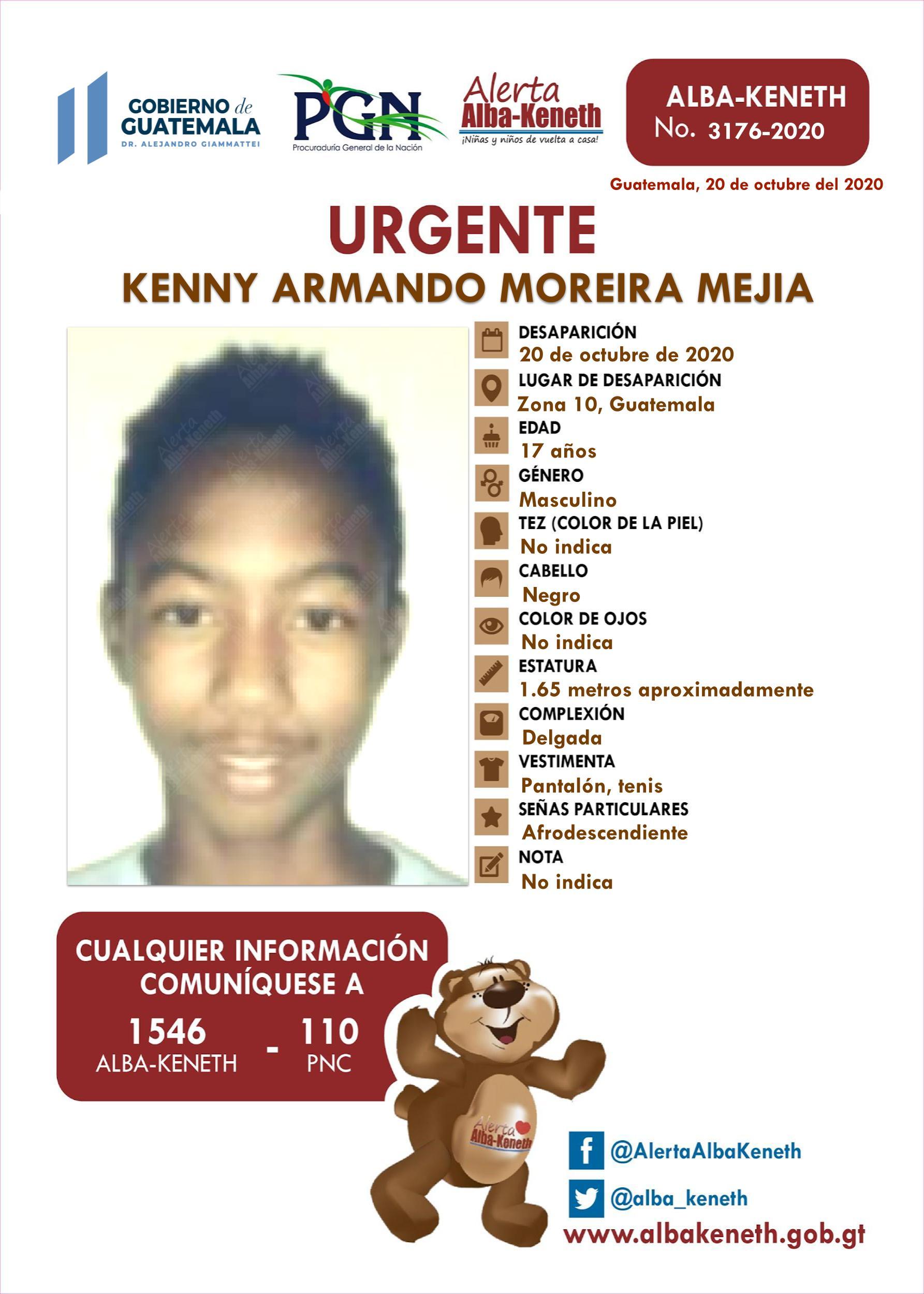 Kenny Armando Moreira Mejia