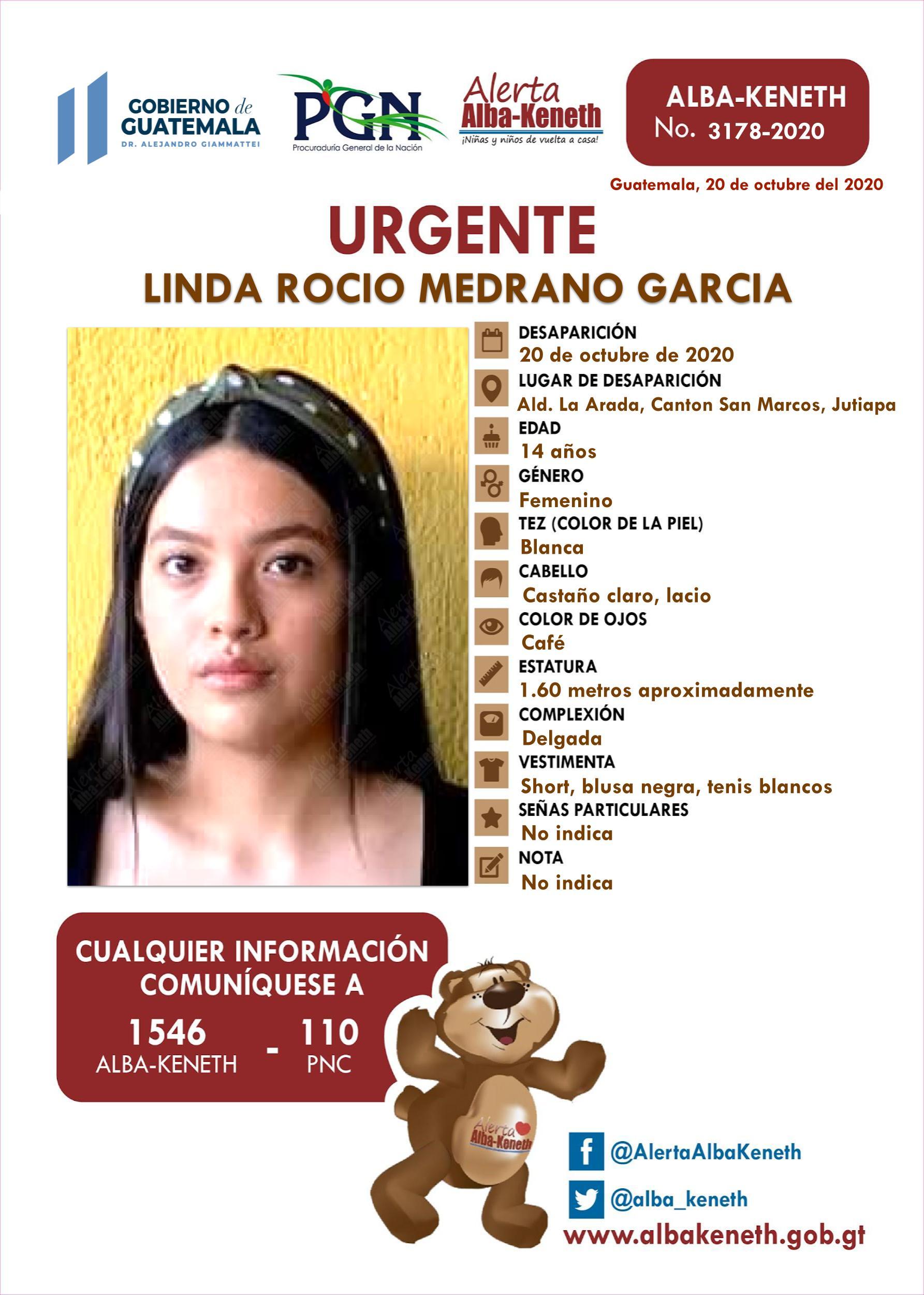 Linda Rocio Medrano Garcia