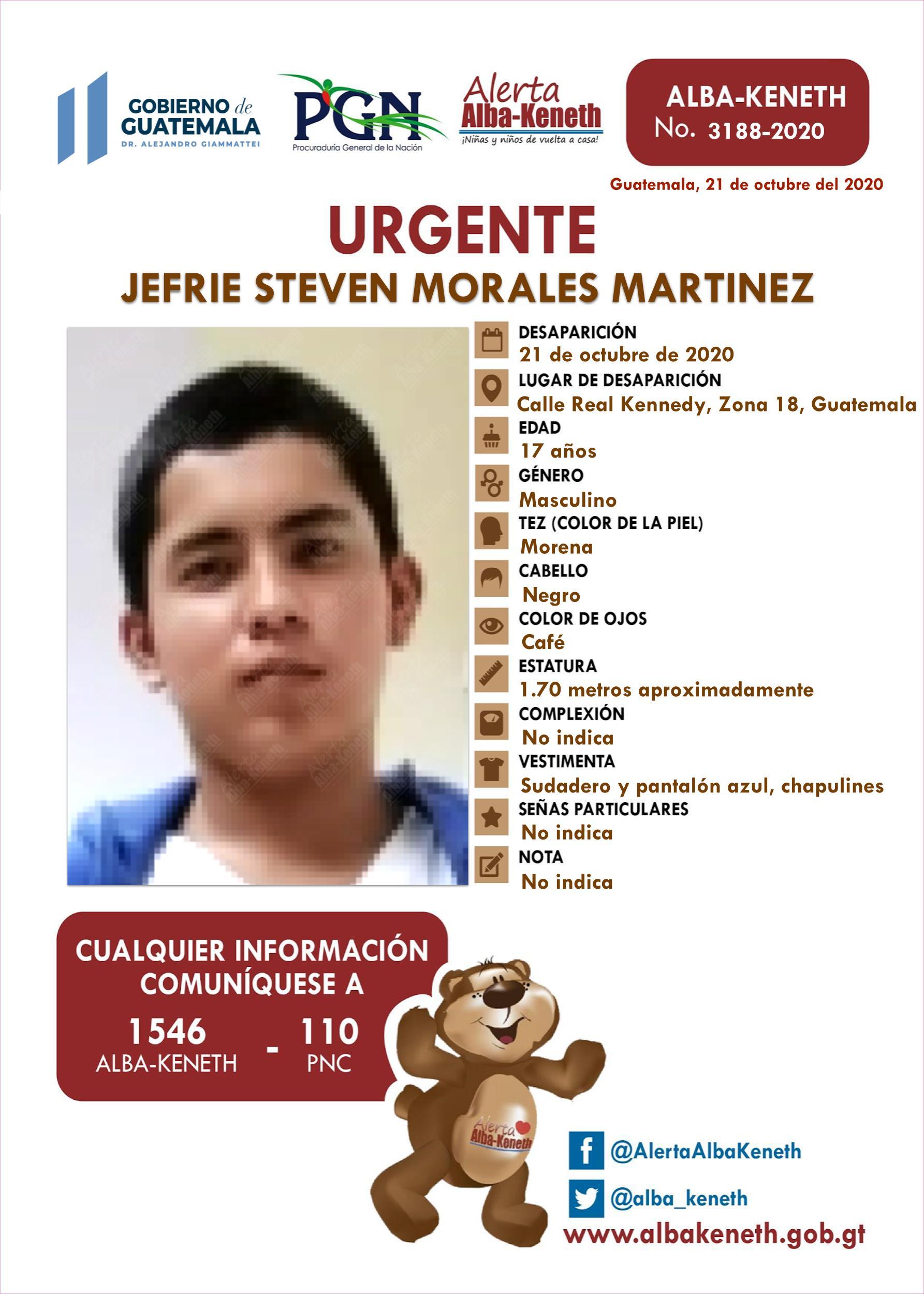 Jefrie Steven Morales Martinez