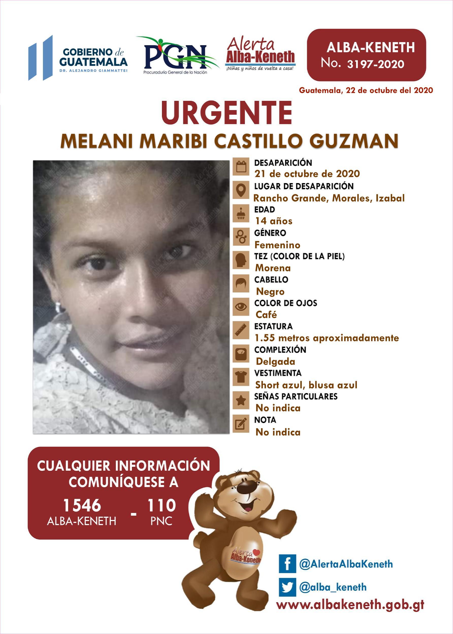 Melani Maribi Castillo Guzman