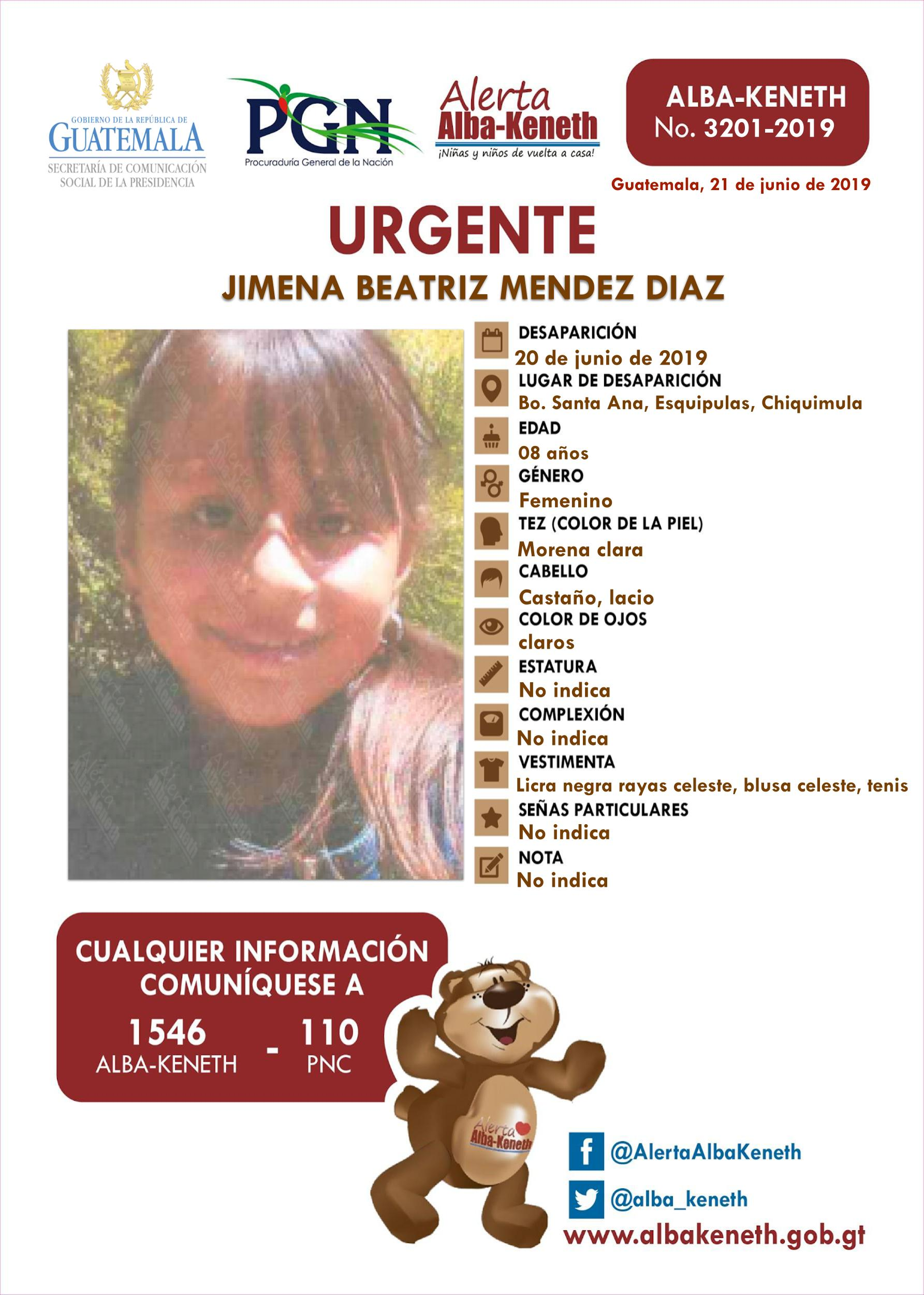 Jimena Beatriz Mendez Diaz