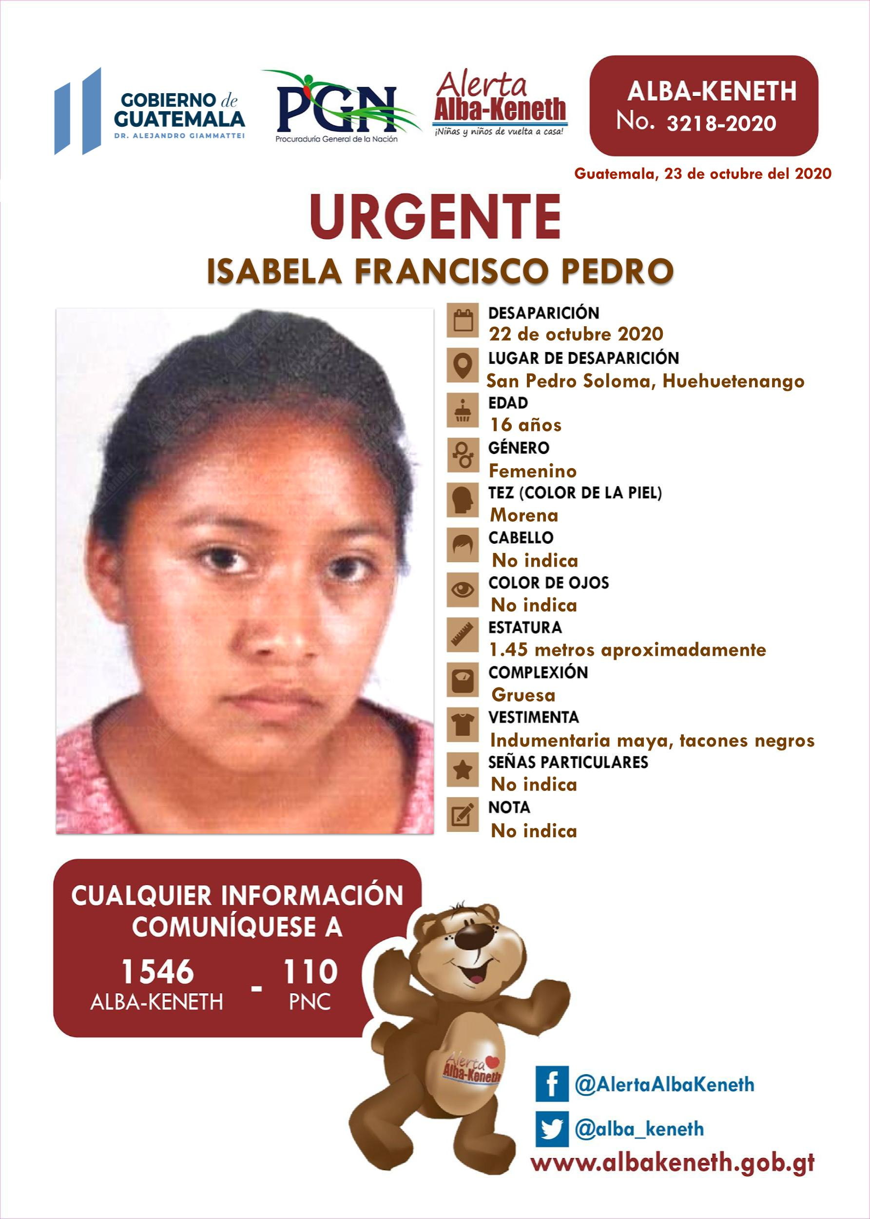 Isabela Francisco Pedro