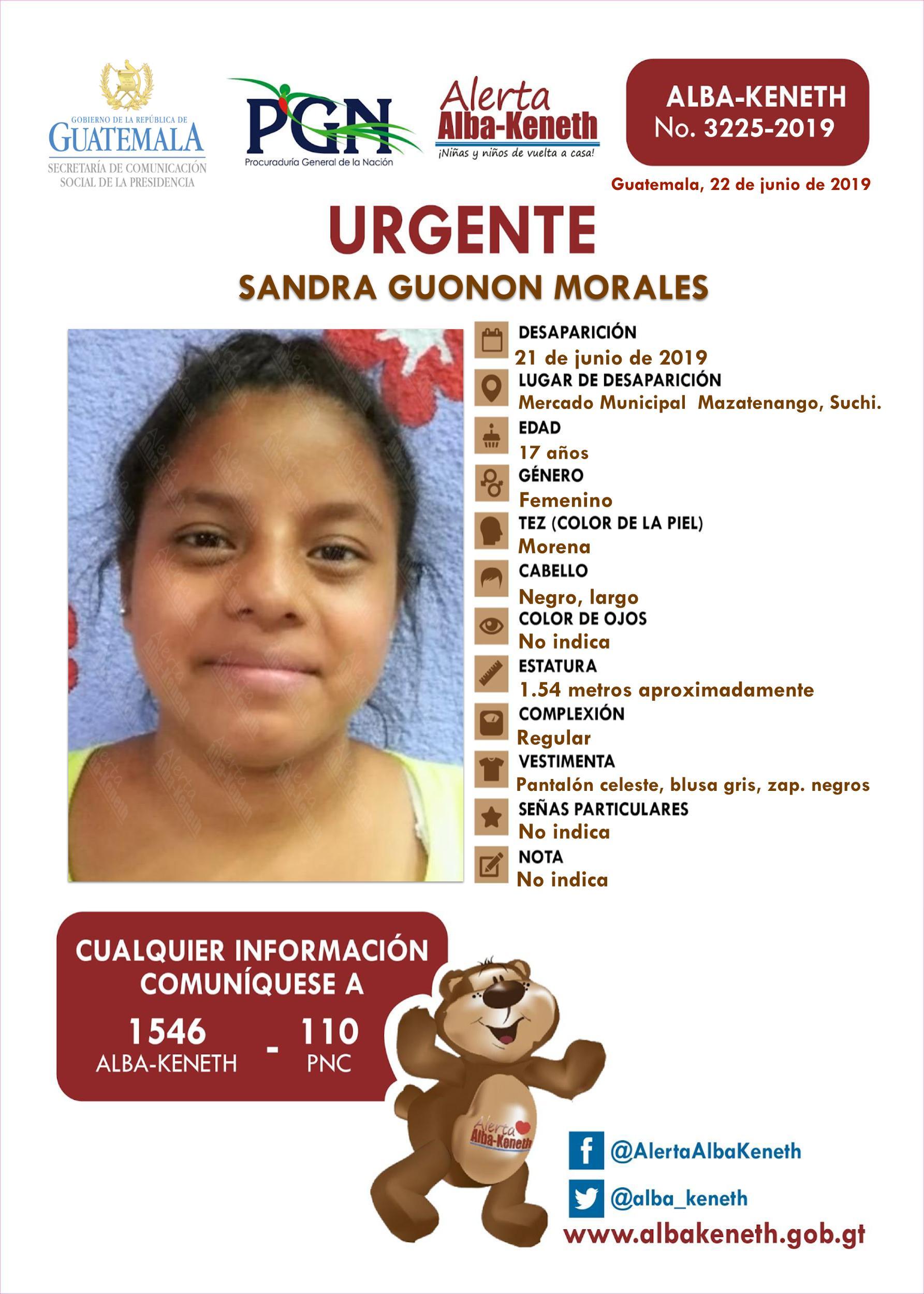 Sandra Guonon Morales