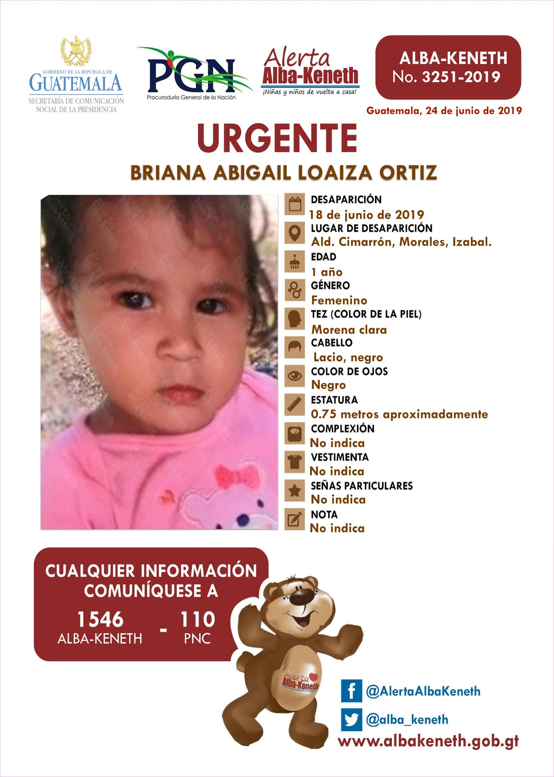 Briana Abigail Loaiza Ortiz