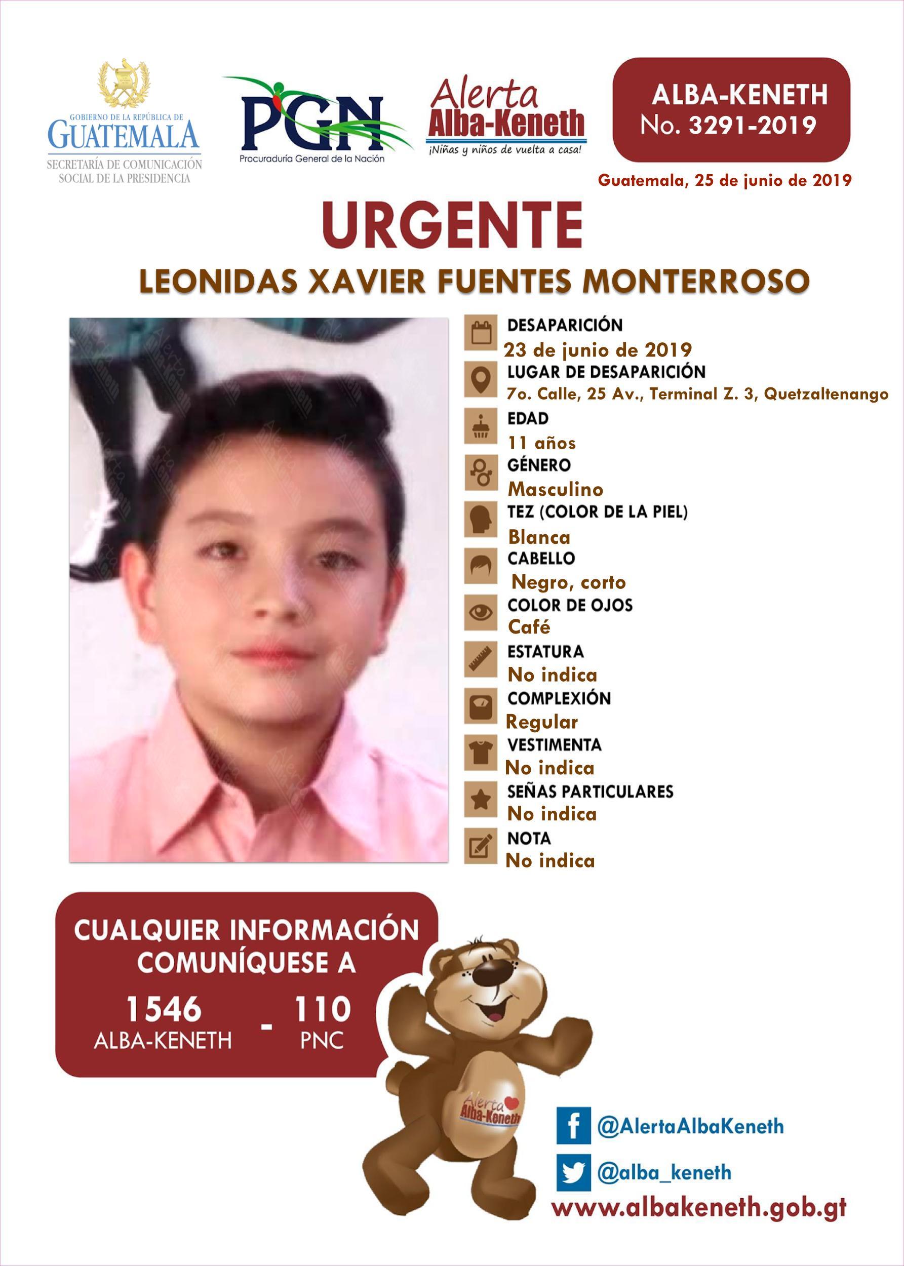 Leonidas Xavier Fuentes Monterroso