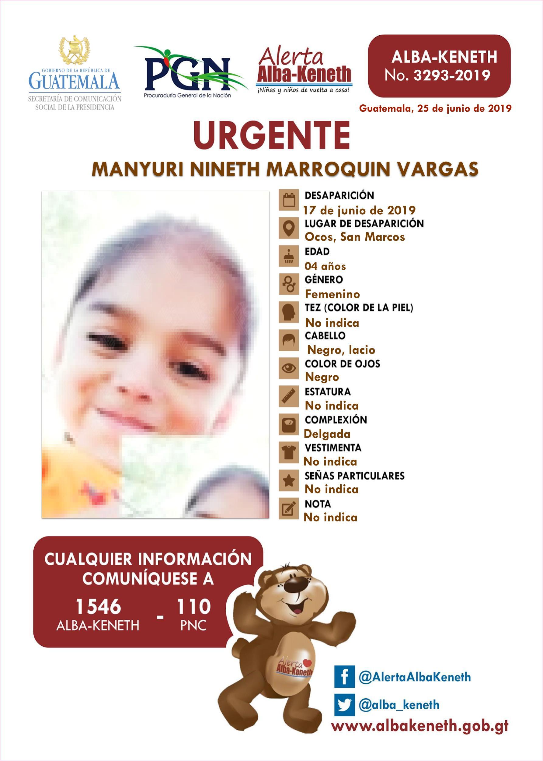Manyuri Nineth Marroquin Vargas