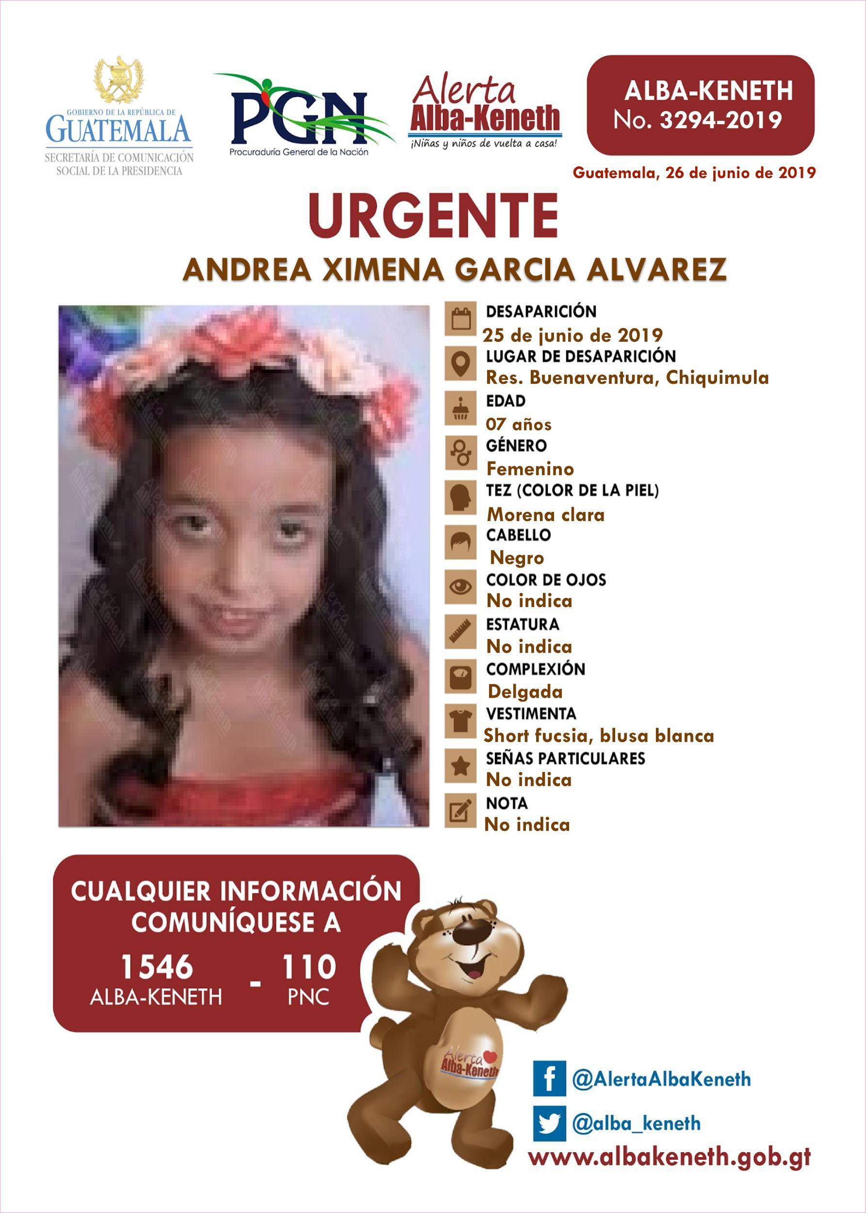 Andrea Ximena Garcia Alvarez