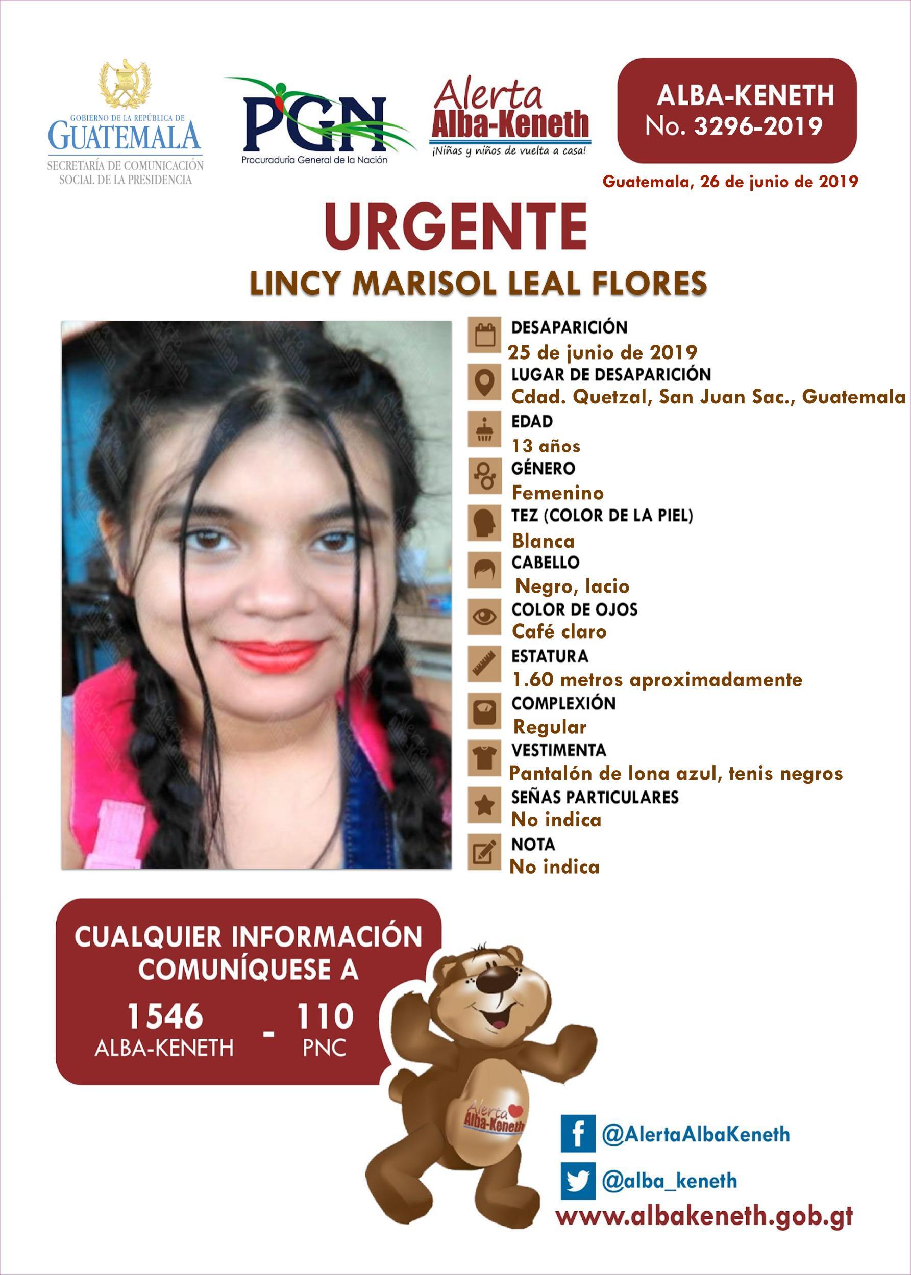 Lincy Marisol Leal Flores
