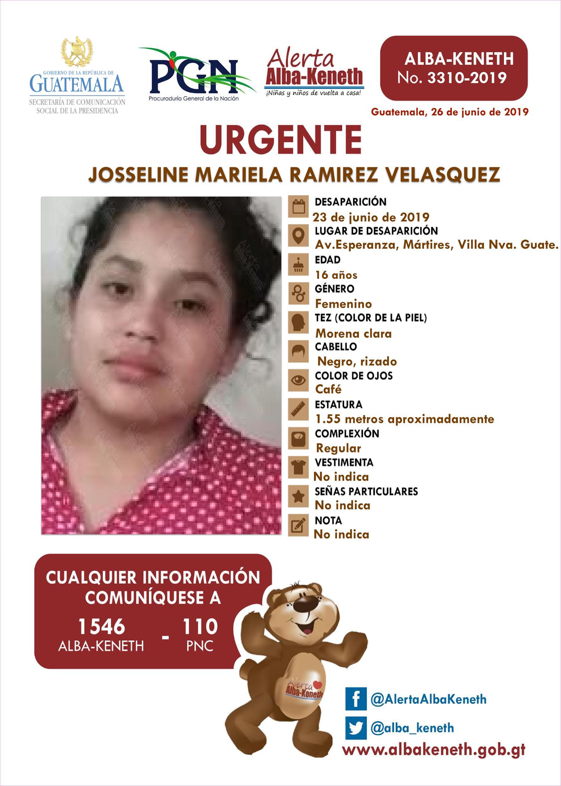 Josselin Mariela Ramirez Velasquez