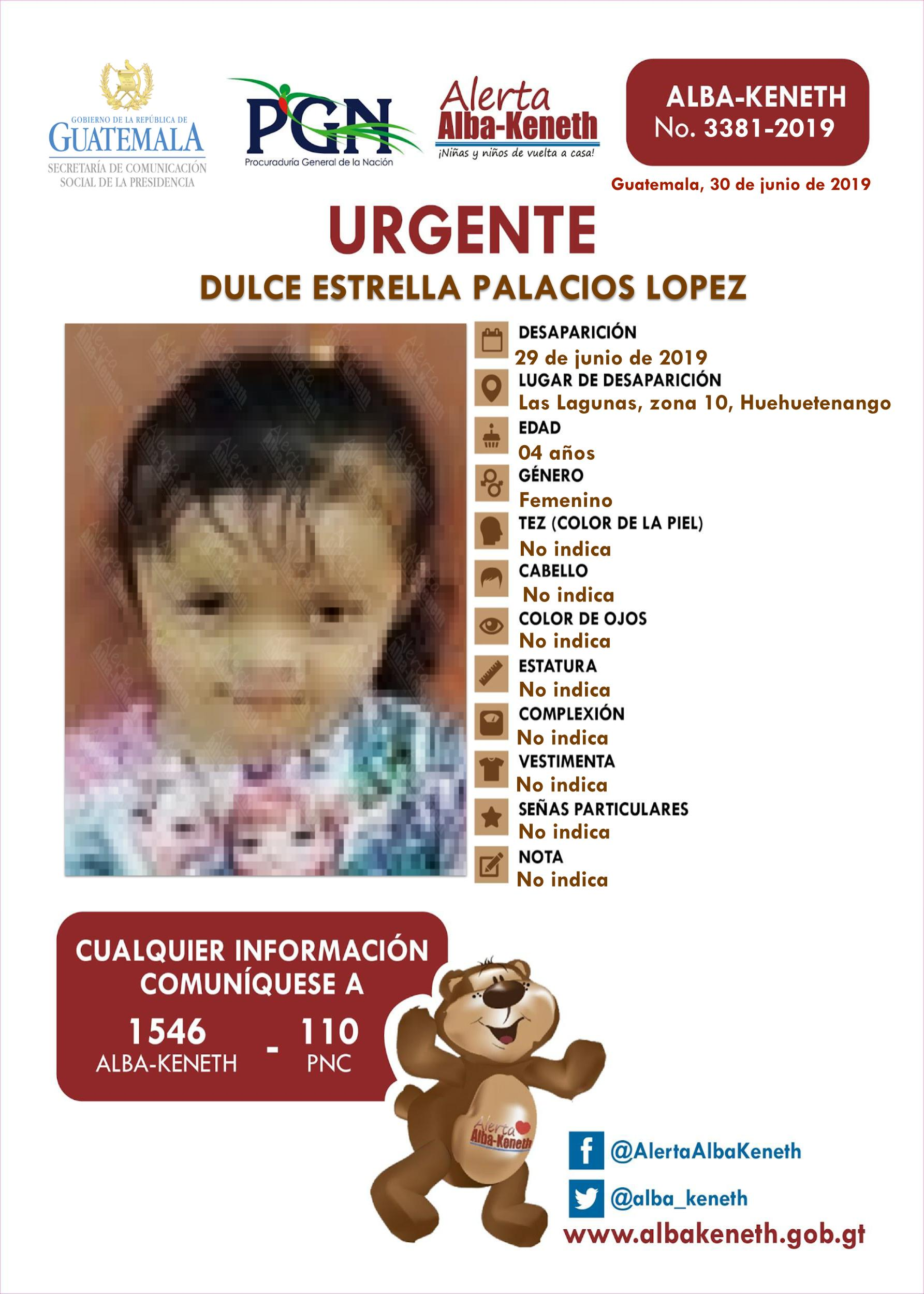 Dulce Estrella Palacios Lopez