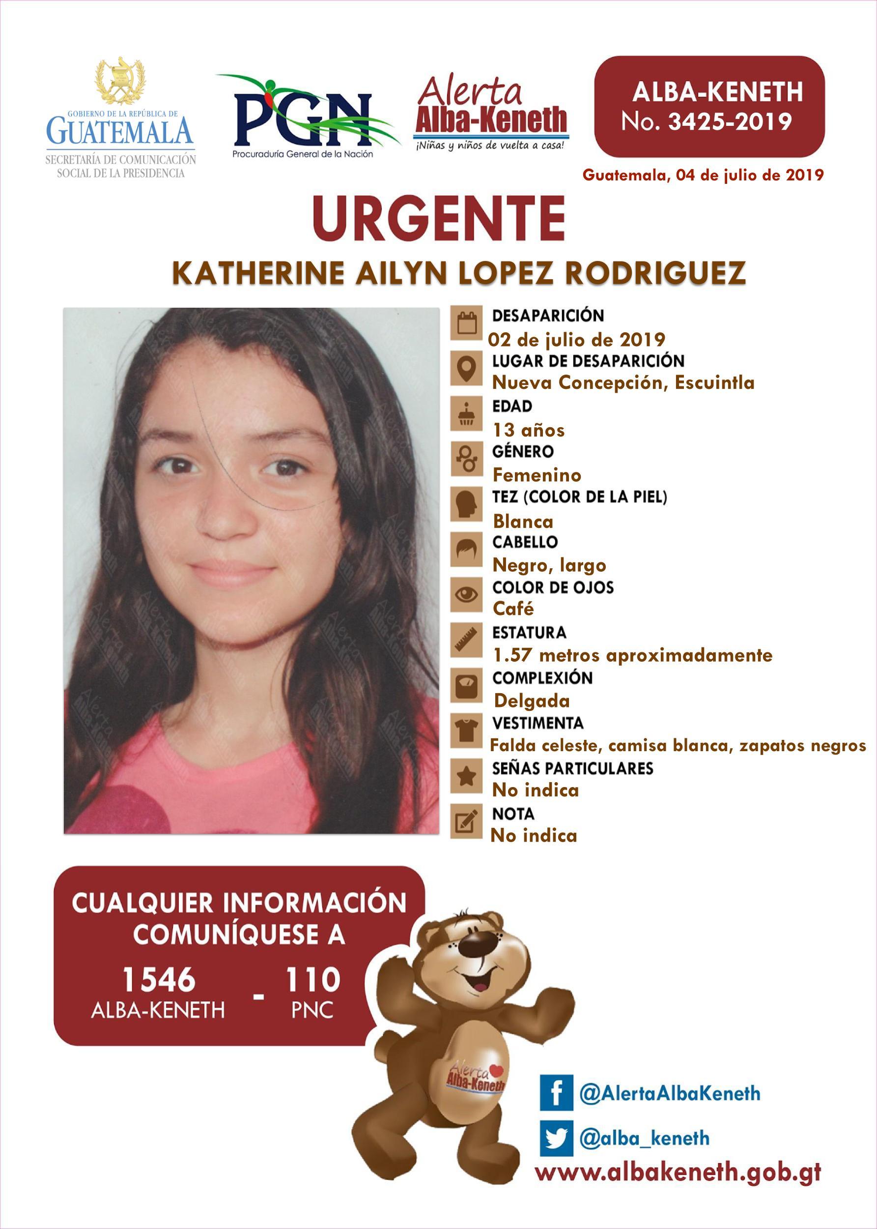 Katherine Ailyn Lopez Rodriguez