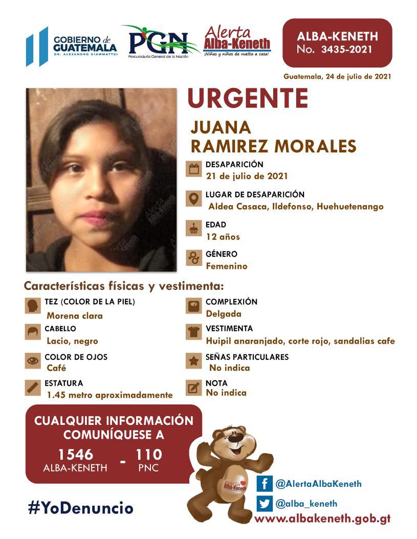 Juana Ramirez Morales