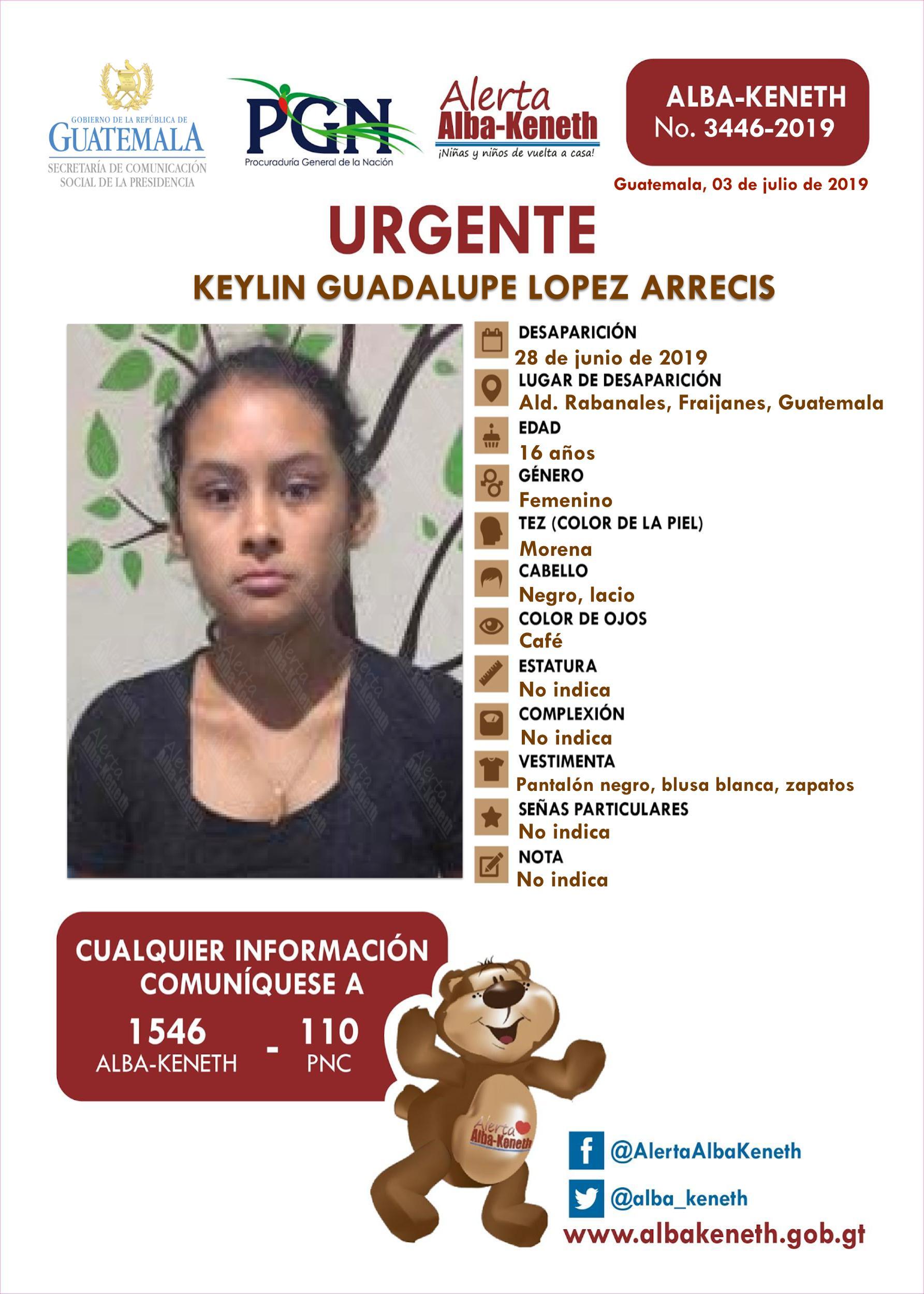 Keylin Guadalupe Lopez Arrecis