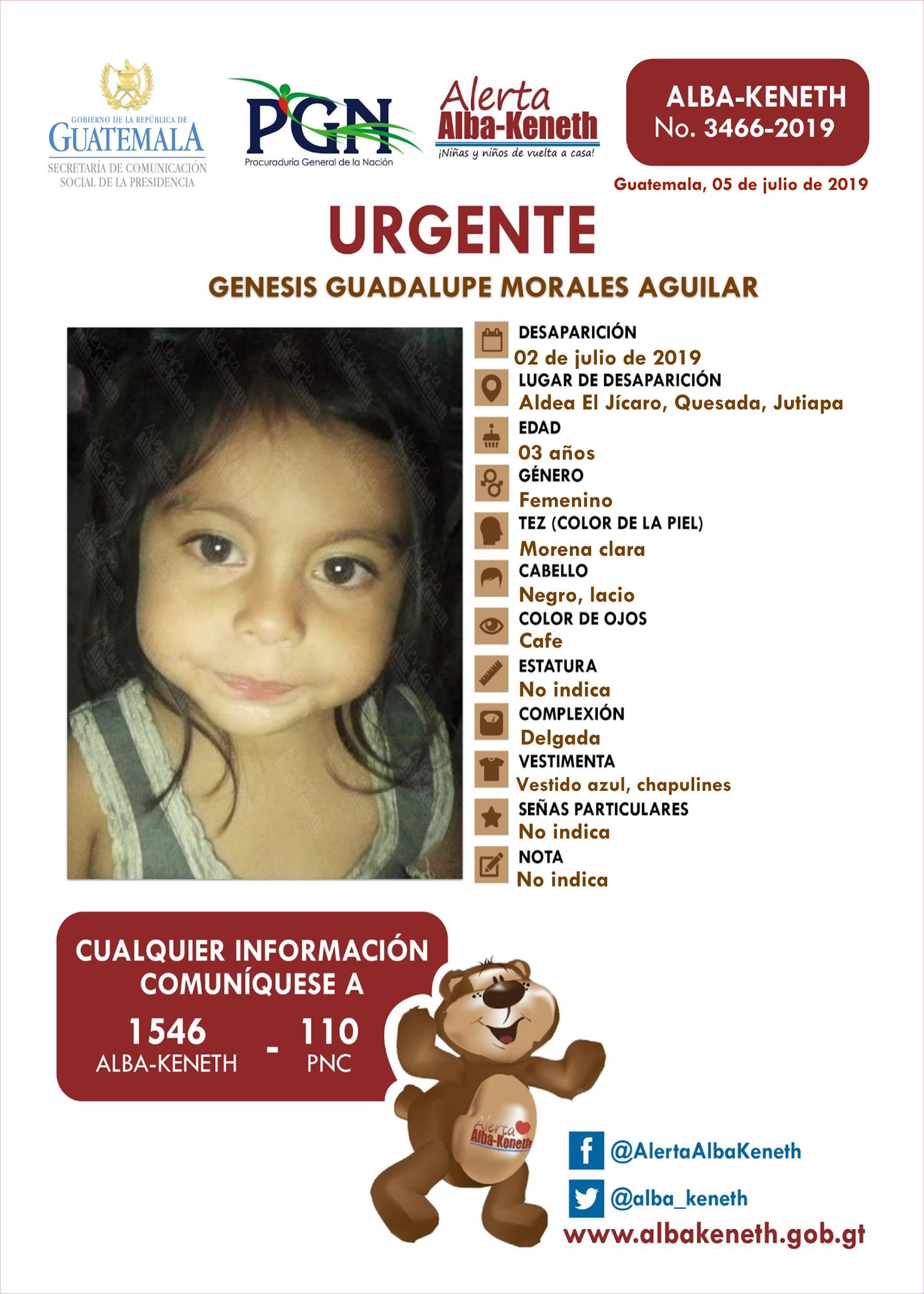 Genesis Guadalupe Morales Aguilar