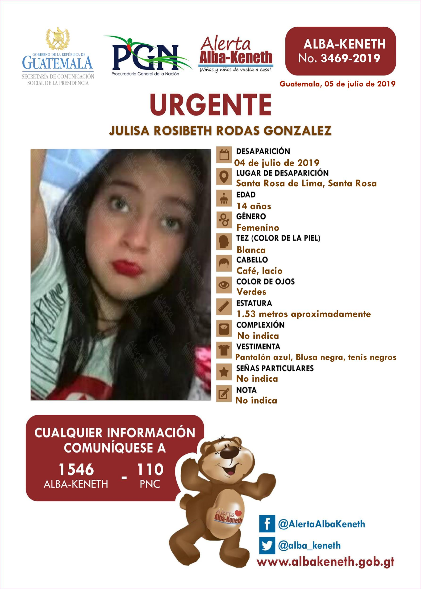 Julisa Rosibeth Rodas Gonzalez