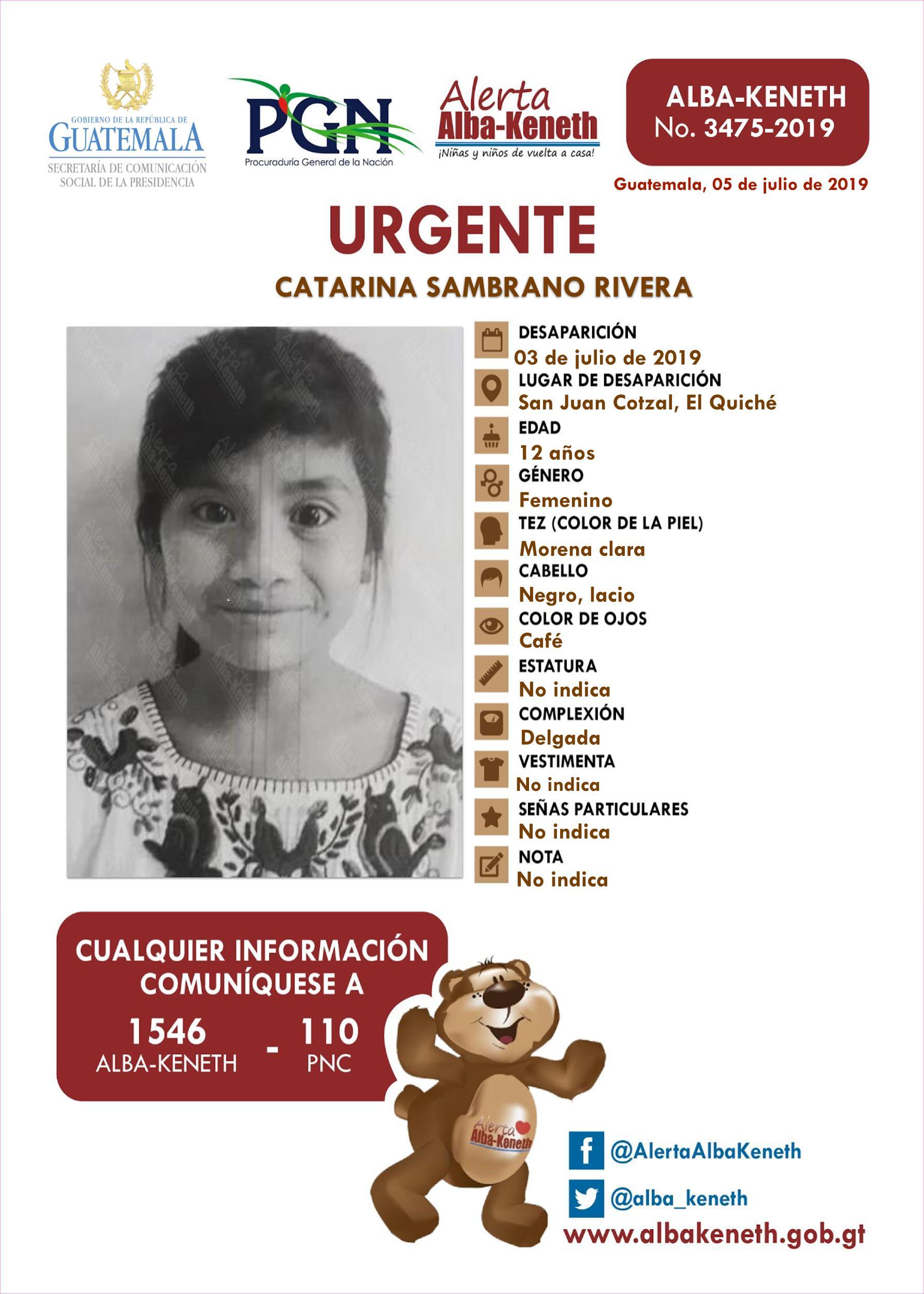 Catarina Sambrano Rivera
