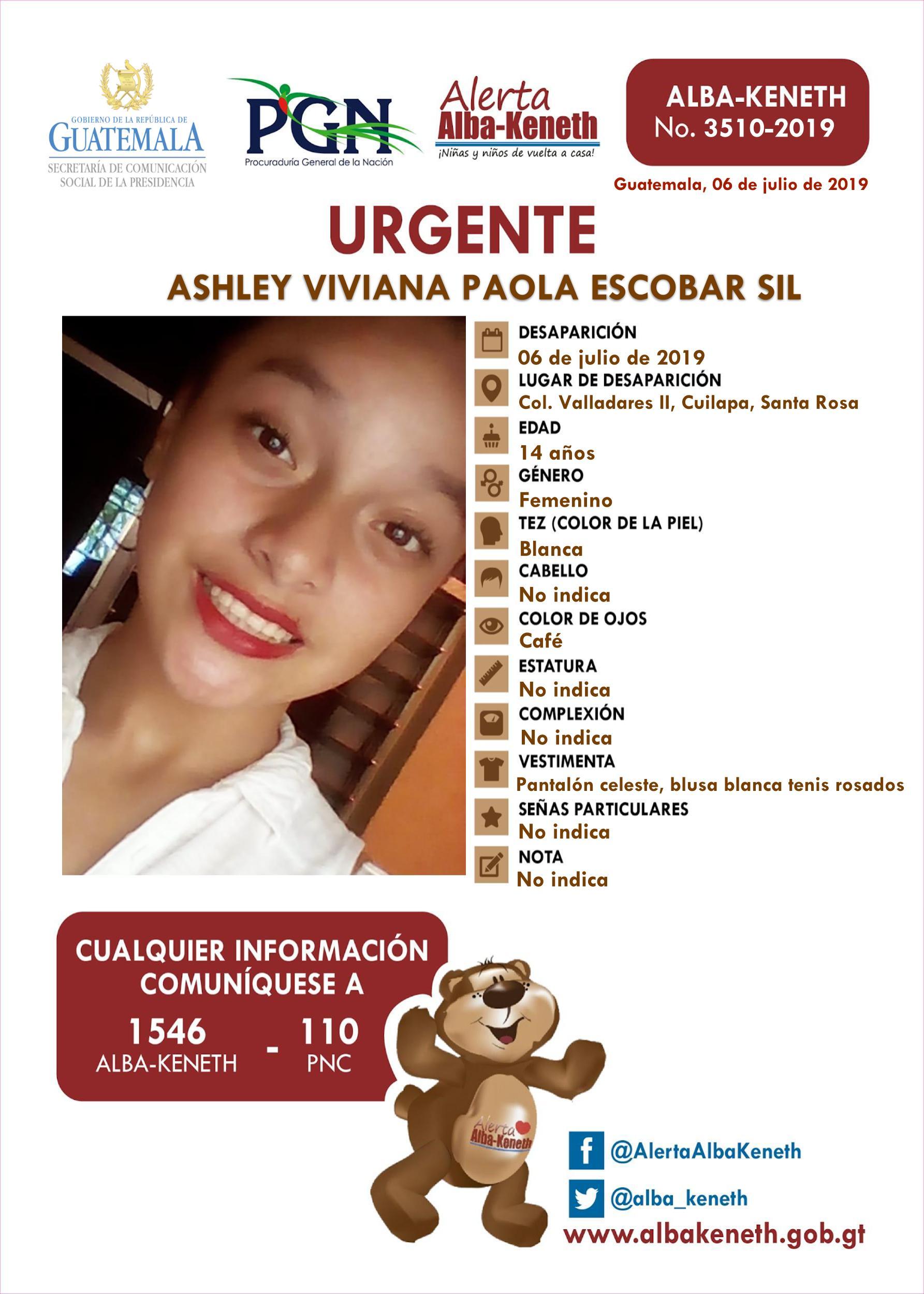 Ashely Viviana Paola Escobar Sil