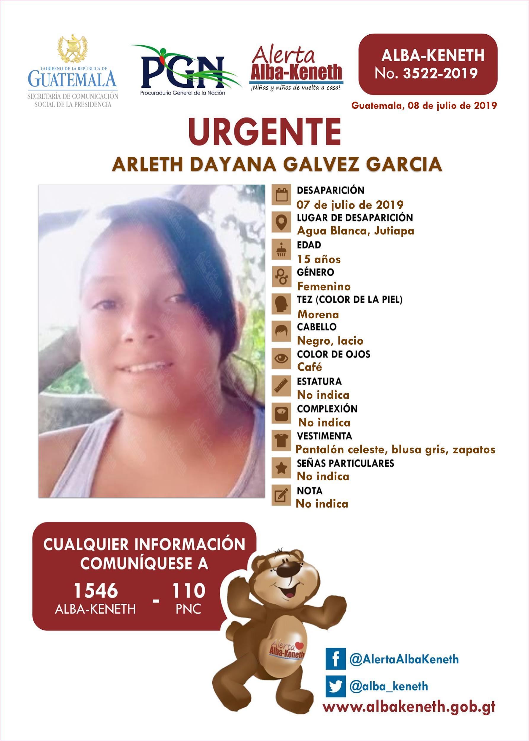 Arleth Dayana Galvez Garcia