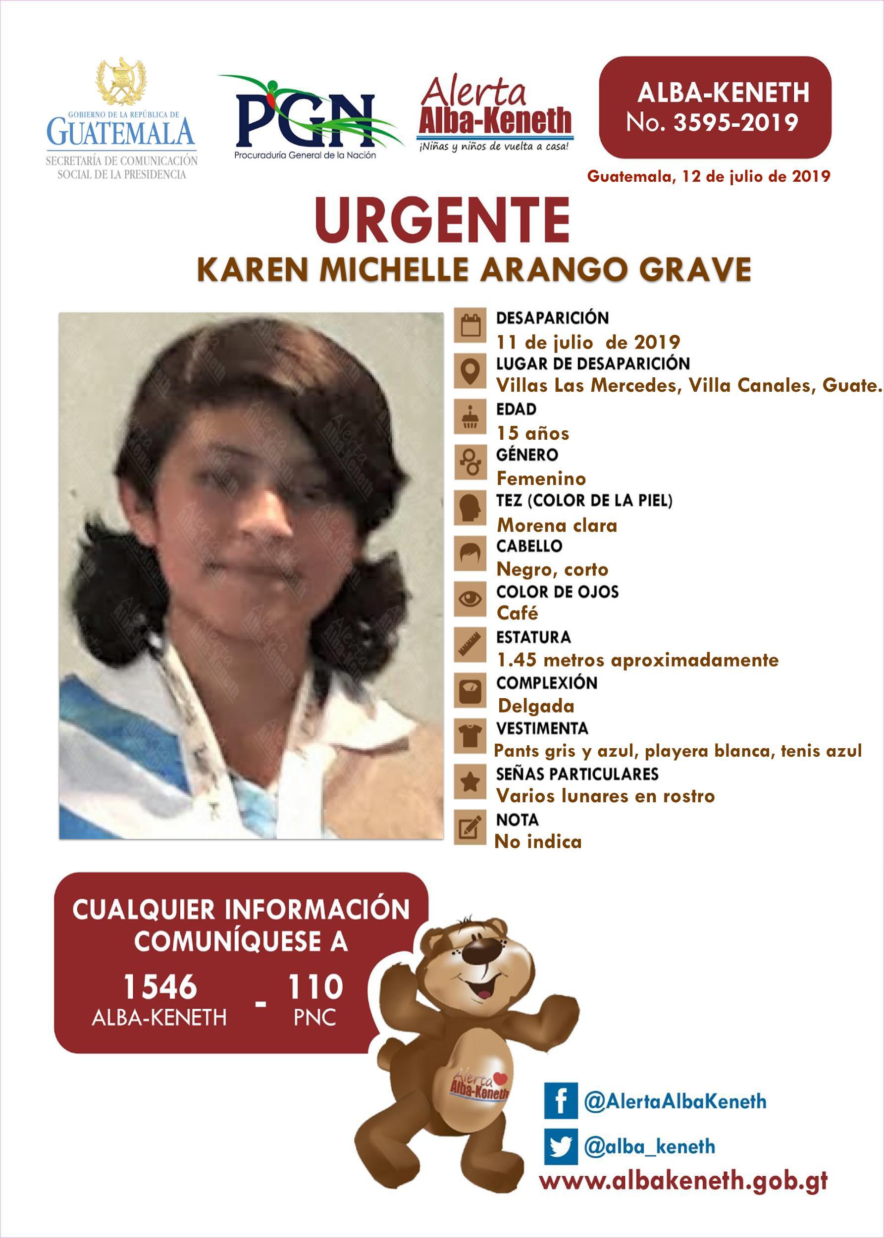 Karen Michelle Arango Grave