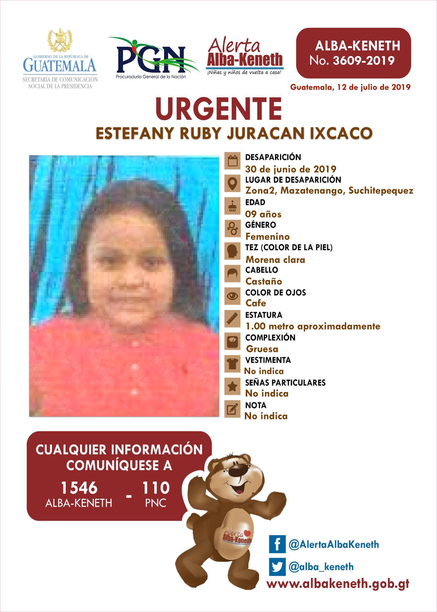 Estefany Ruby Juracan Ixcaco