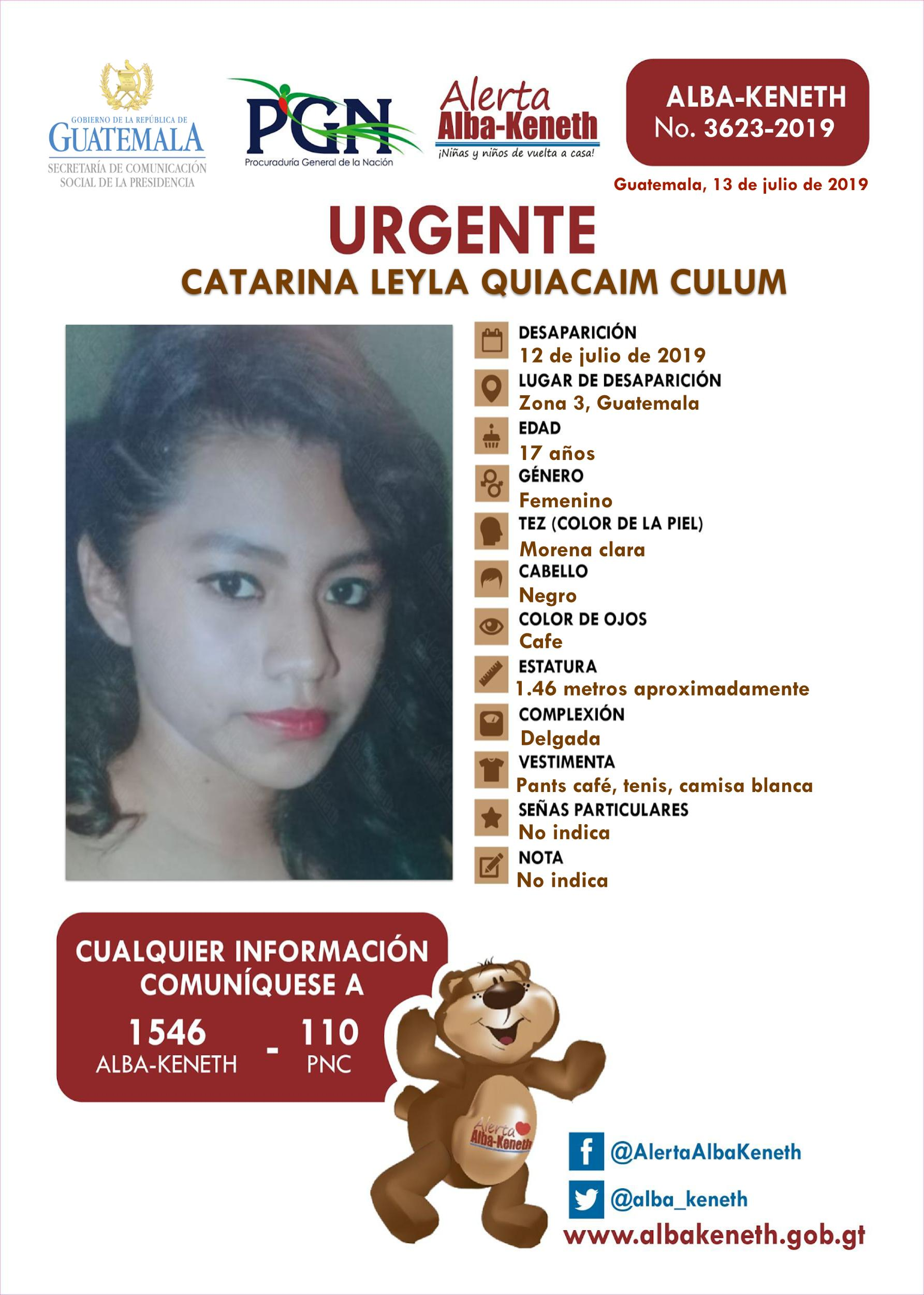 Catarina Leyla Quiacaim Culum
