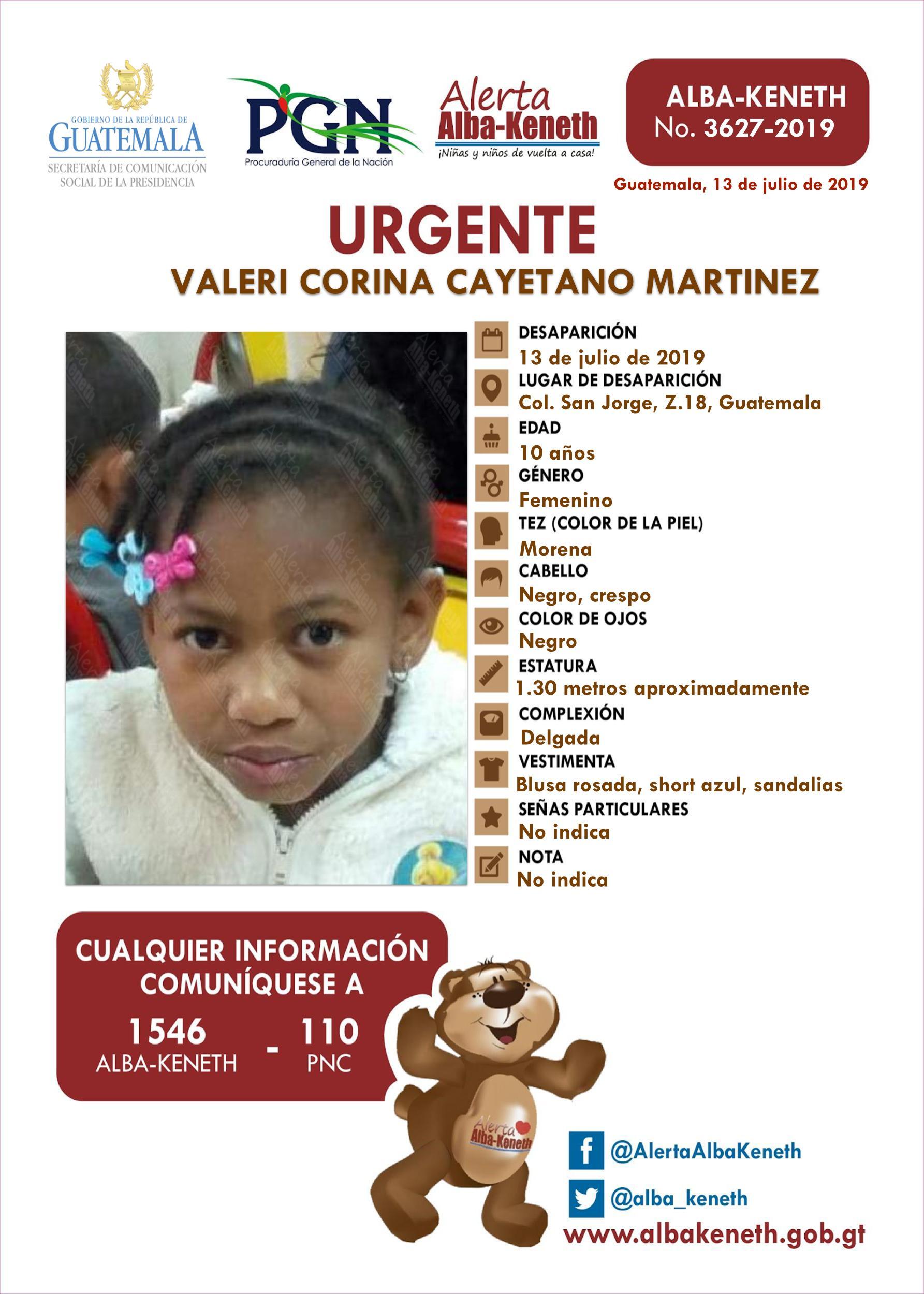 Valeri Corina Cayetano Martinez