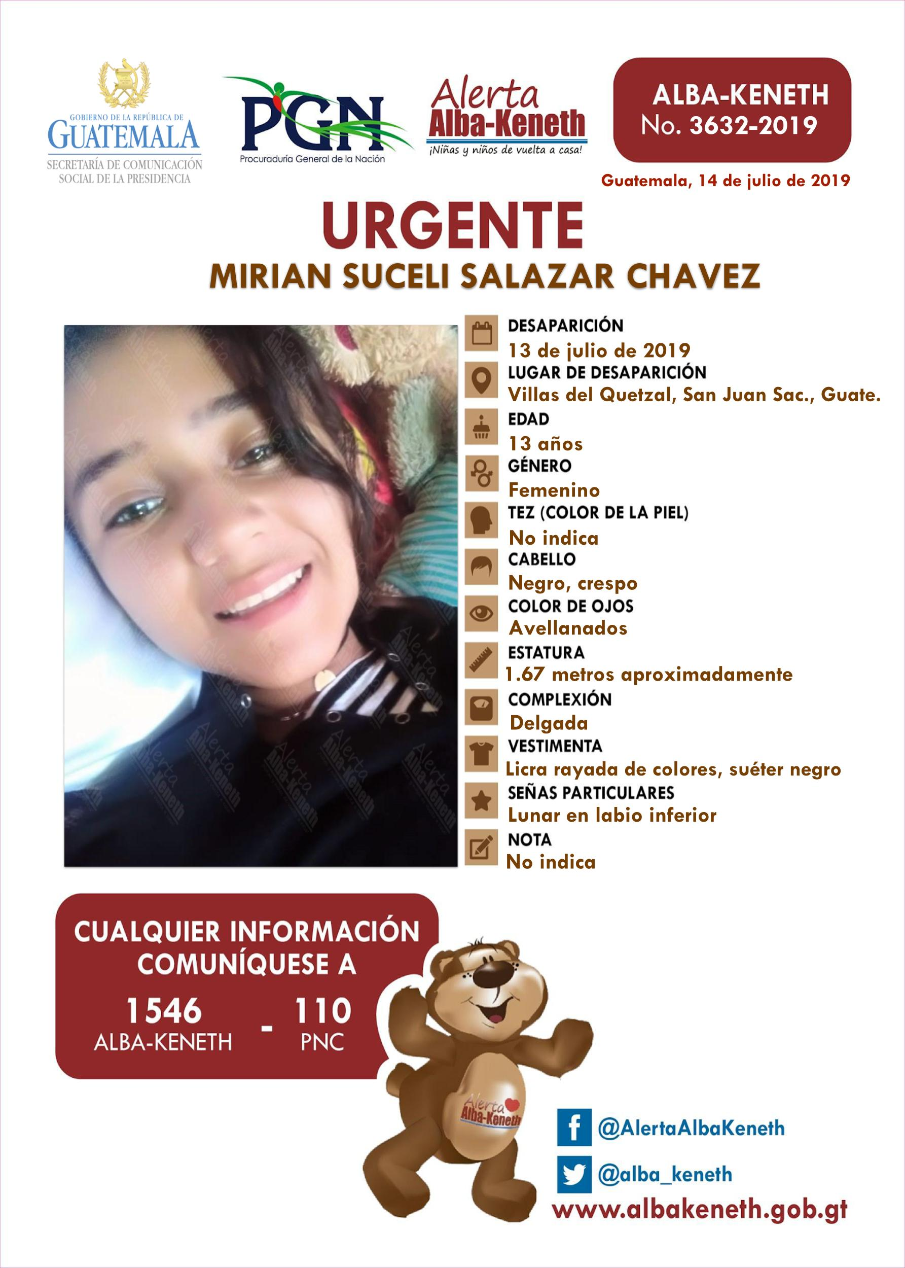 Miriam Suceli Salazar Chavez