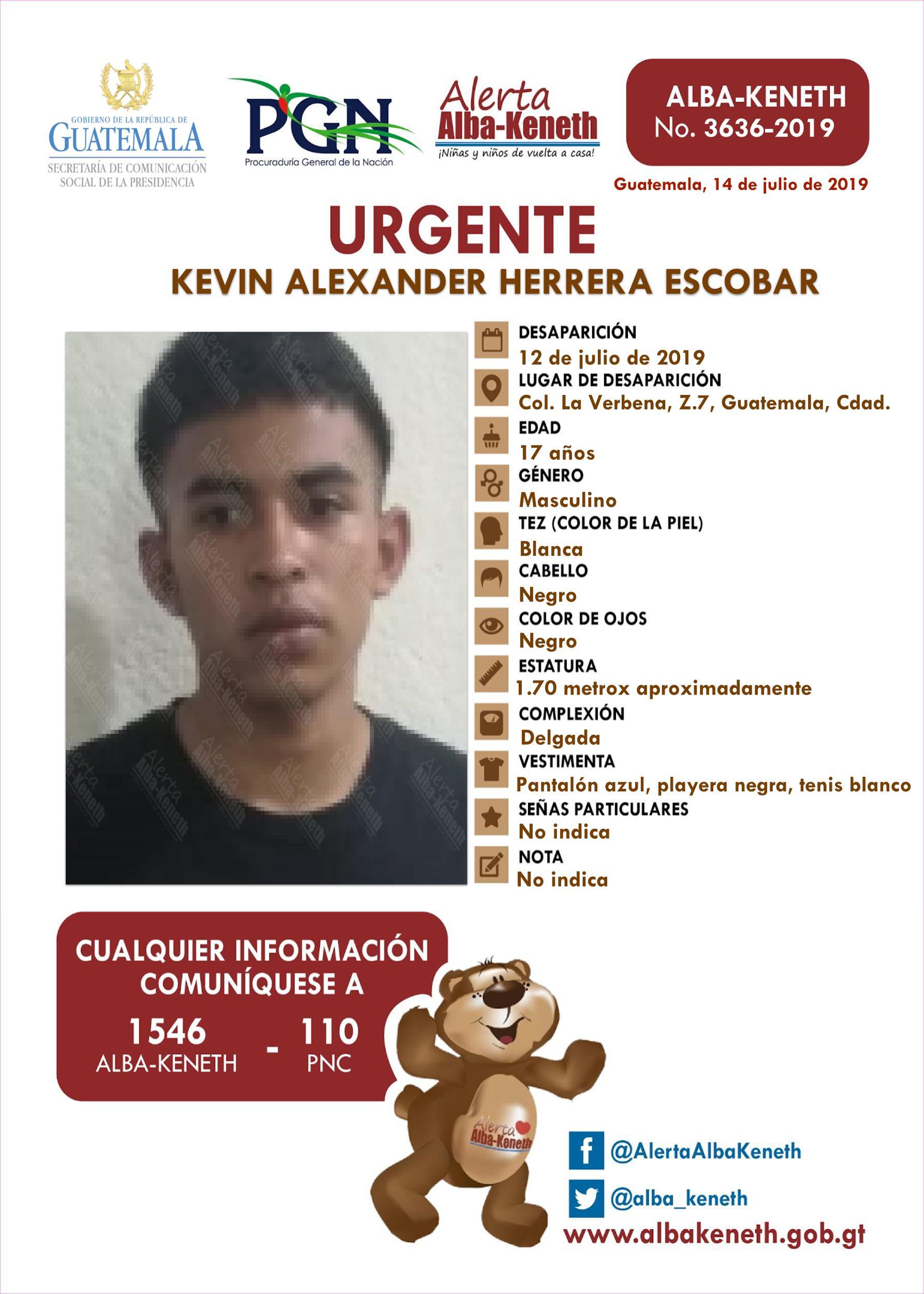 Kevin Alexander Herrera Escobar
