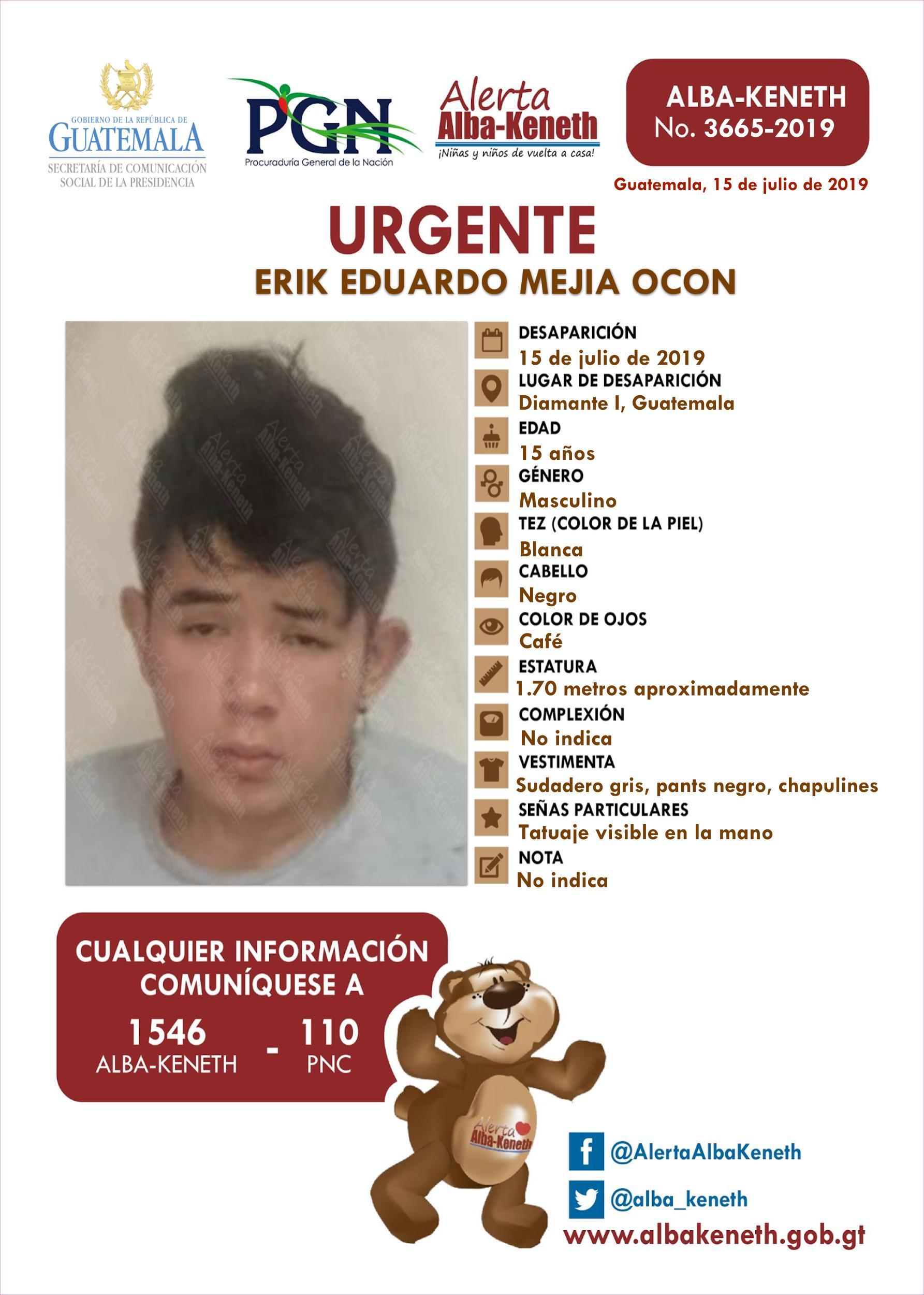 Erik Eduardo Mejia Ocon