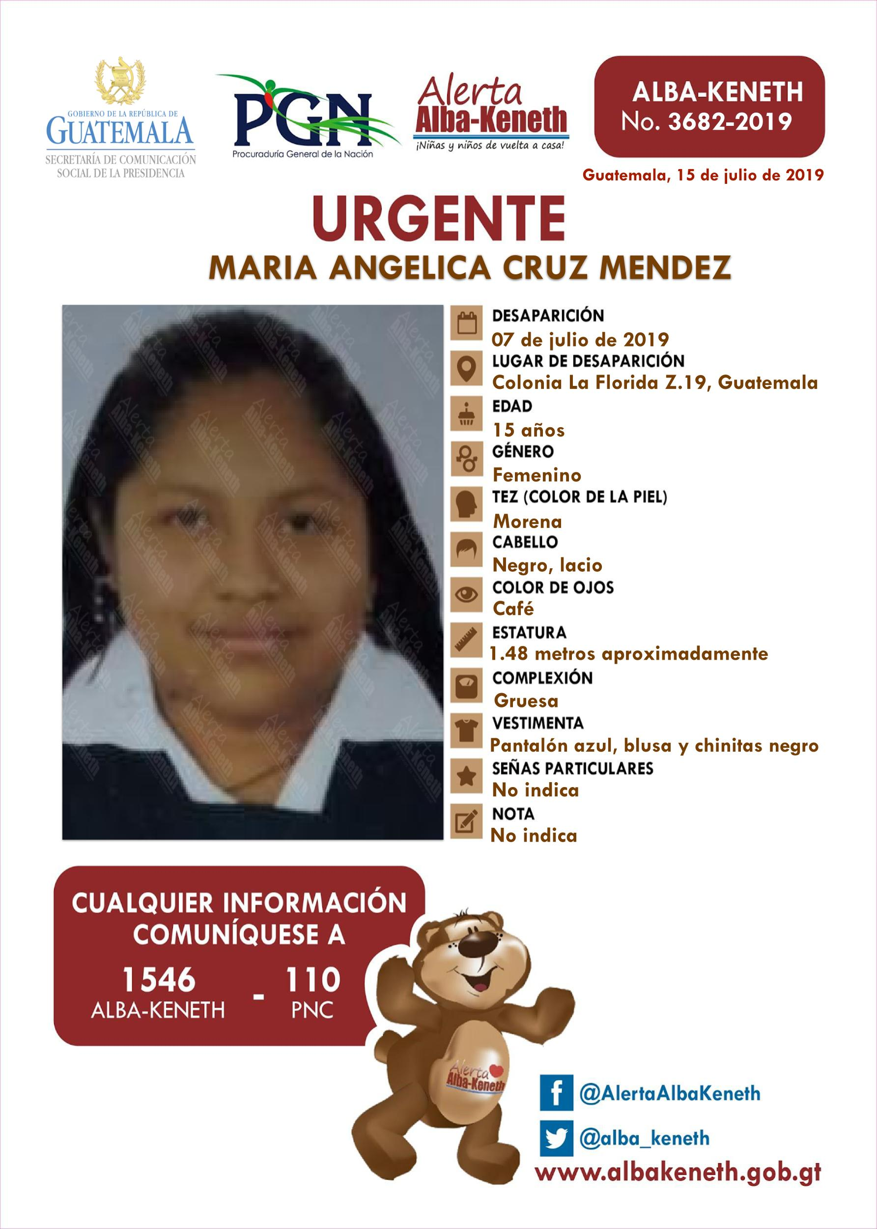 Maria Angelica Cruz Mendez