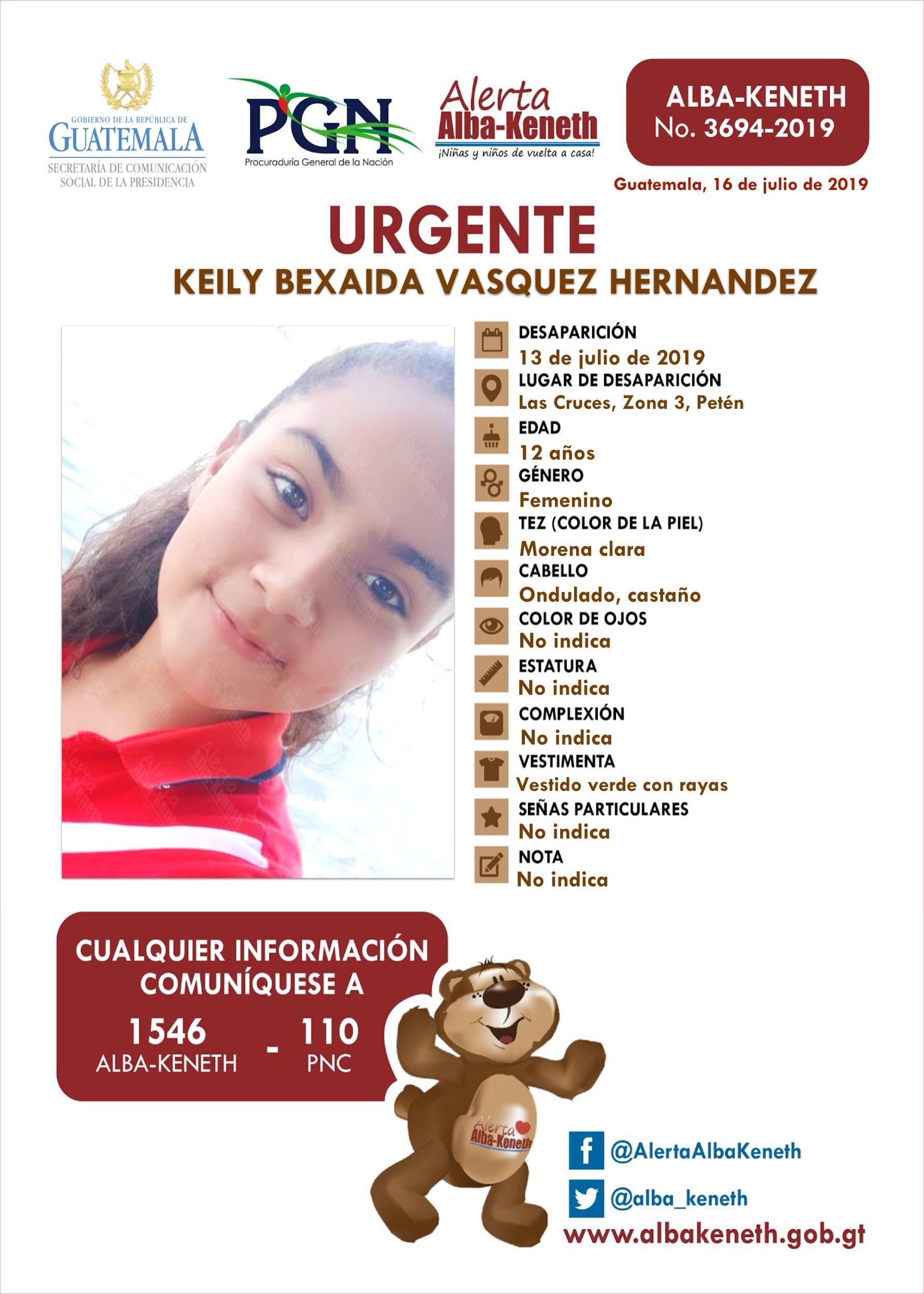 Keily Bexaida Vasquez Herandez
