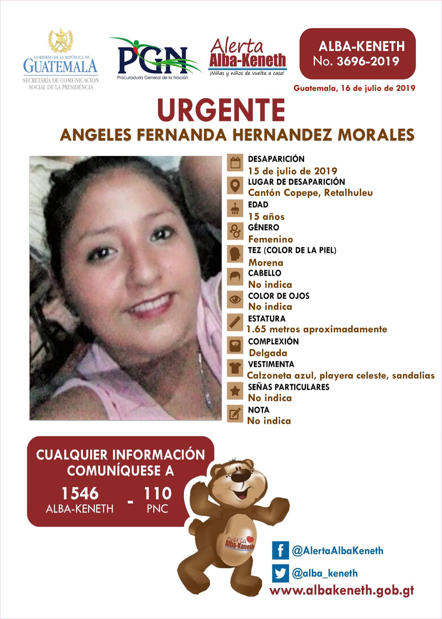 Angeles Fernanda Herandez Morales