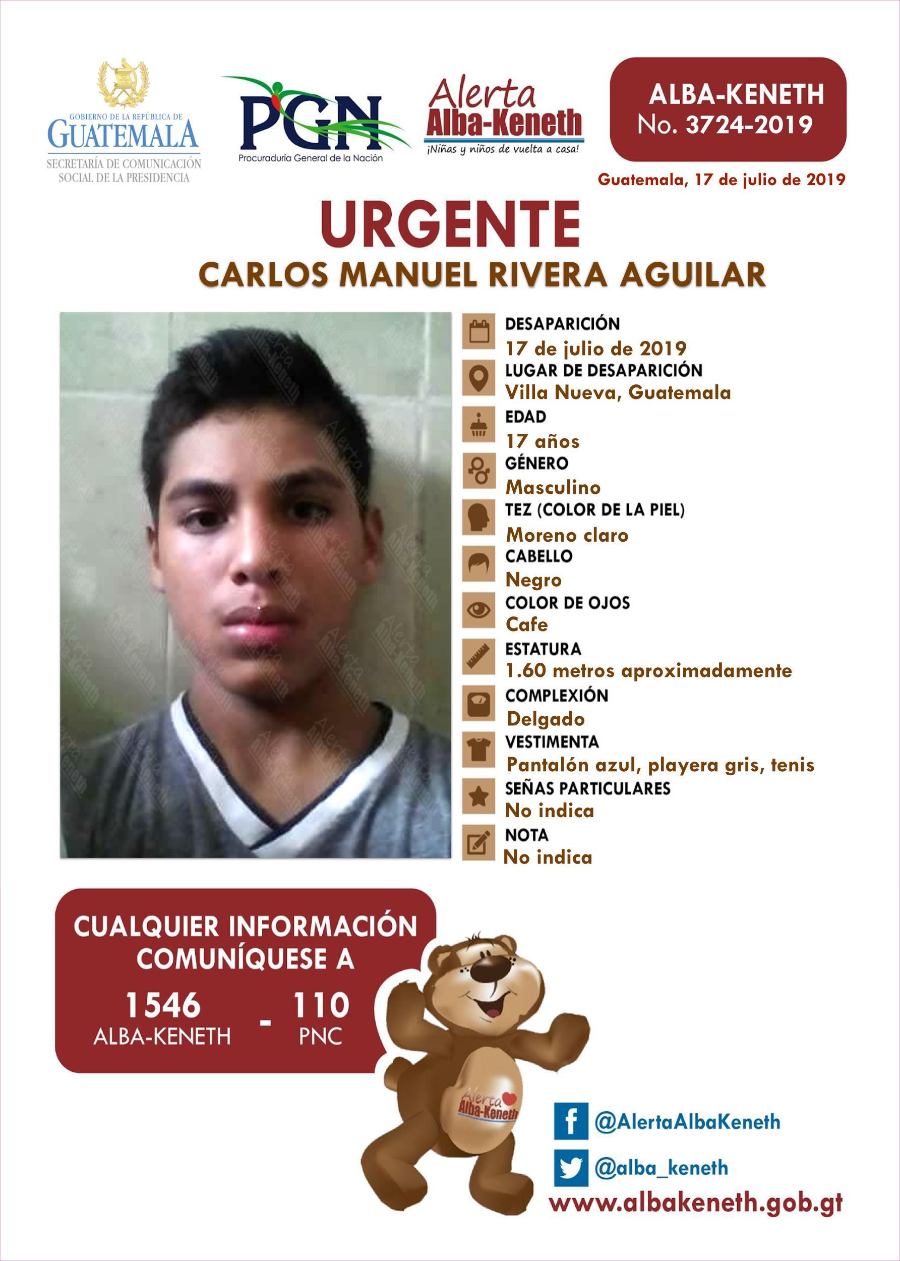 Carlos Manuel Rivera Aguilar