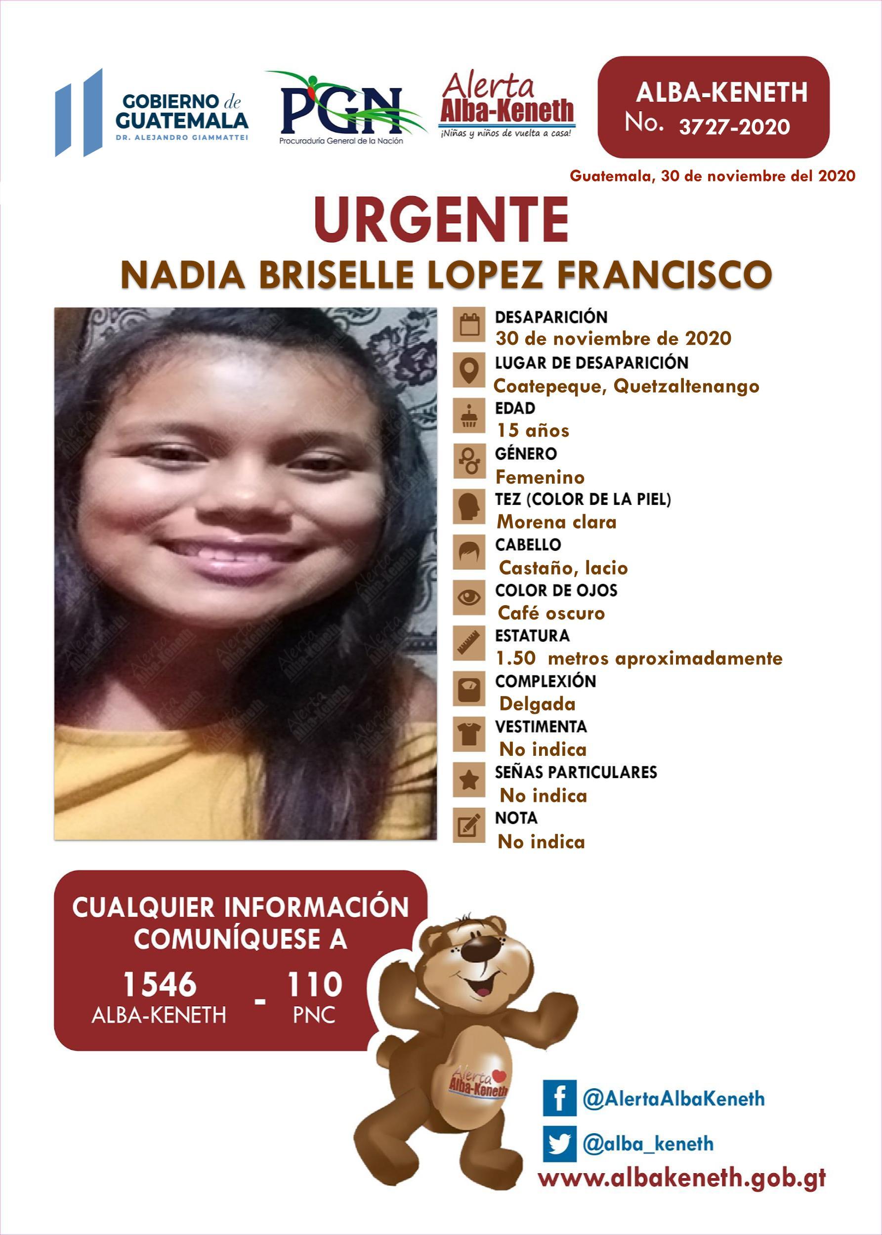 Nadia Briselle Lopez Francisco