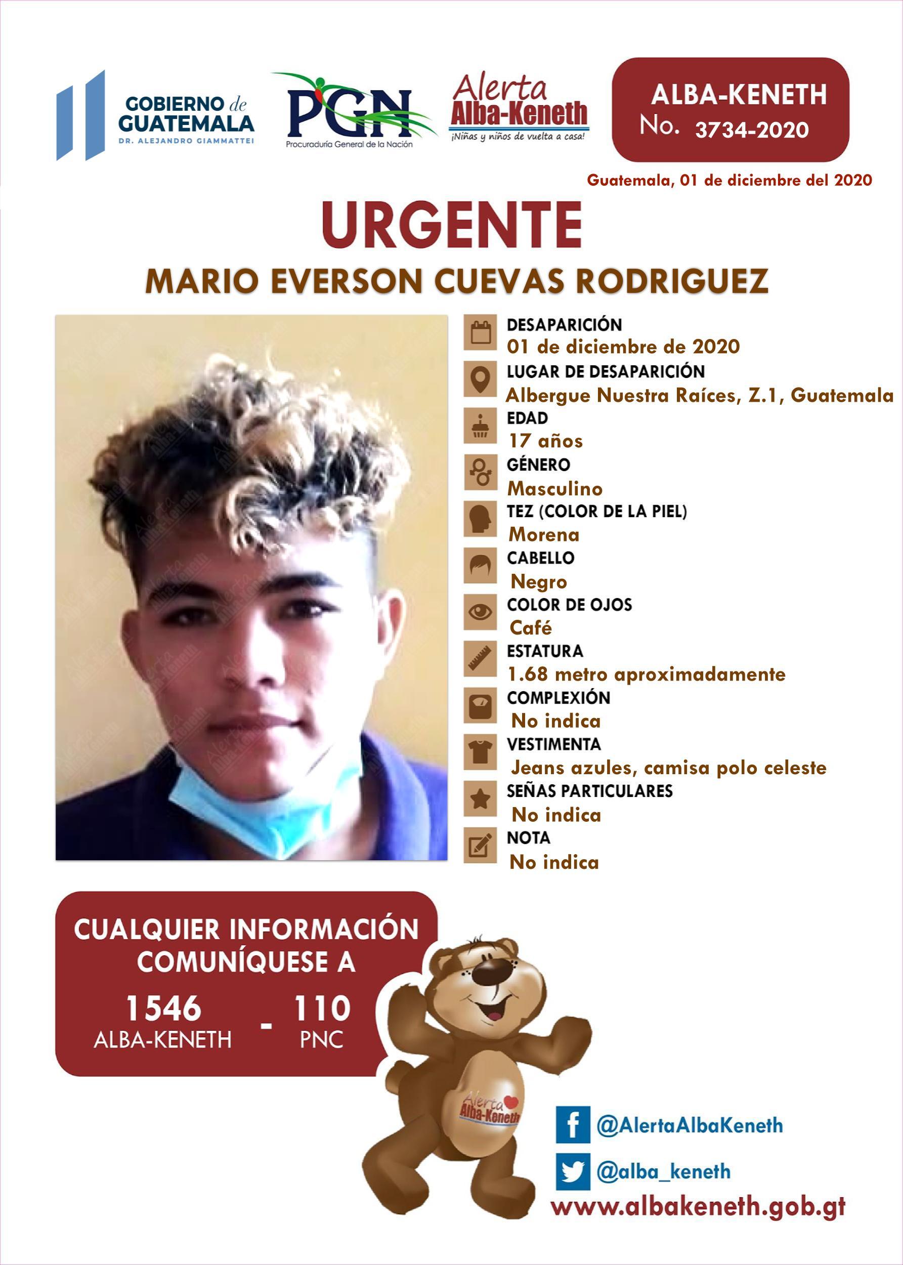 Mario Everson Cuevar Rodriguez