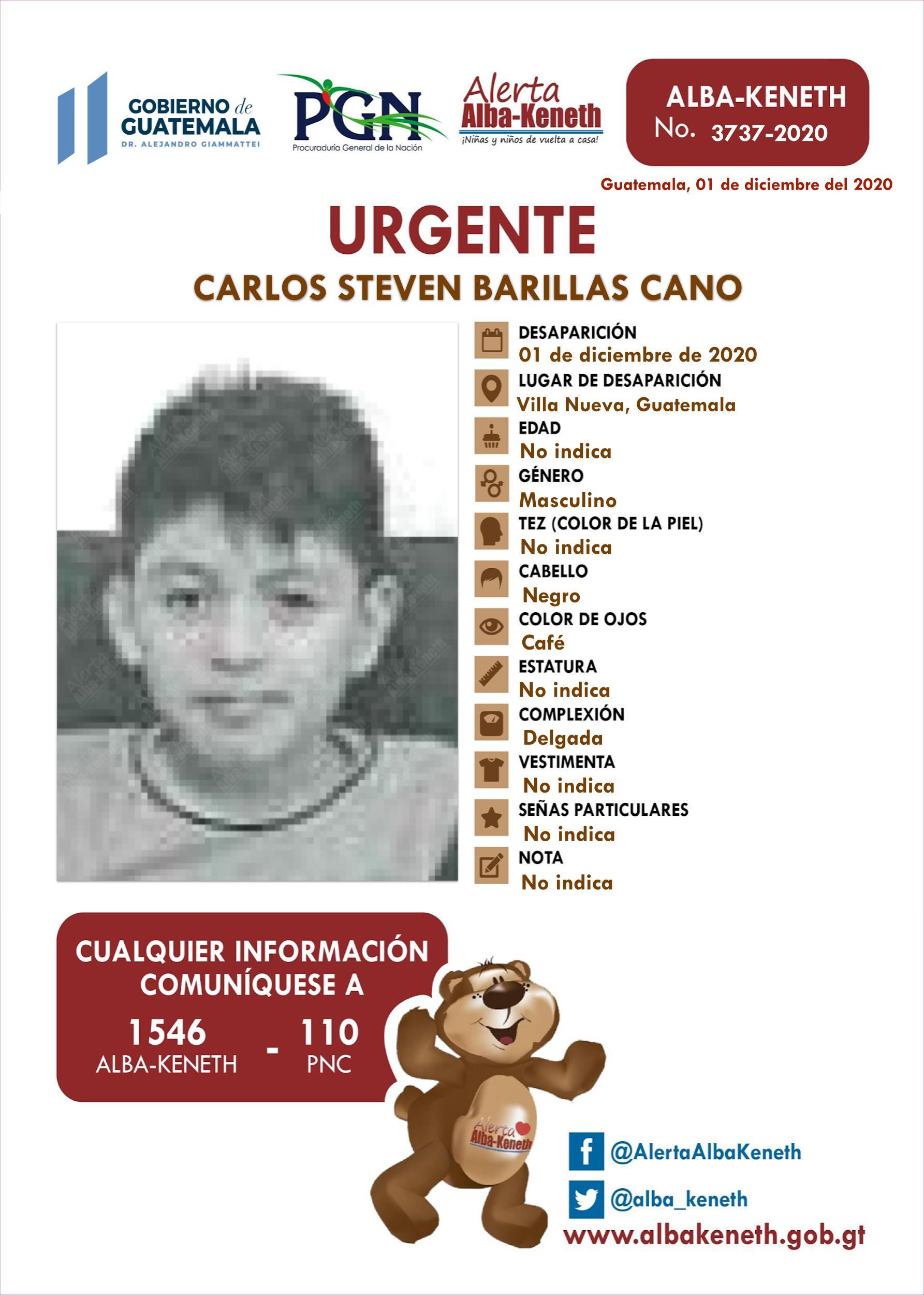 Carlos Steven Barillas Cano