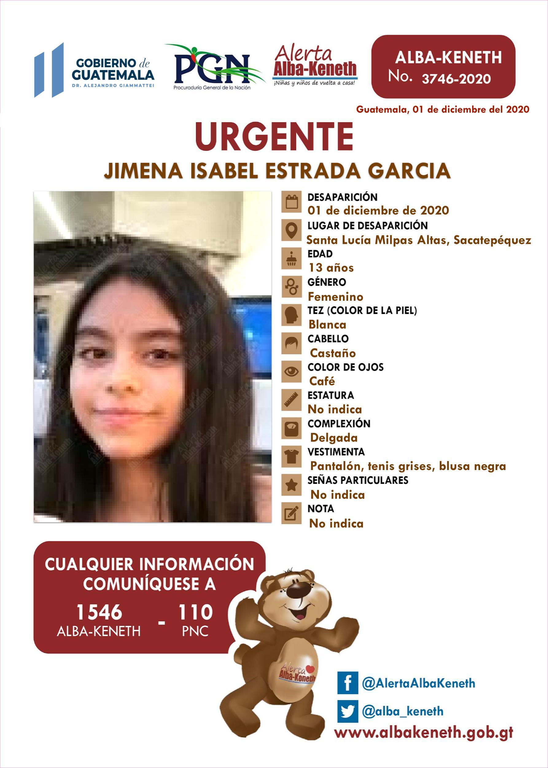 Jimena Isabel Estrada Garcia