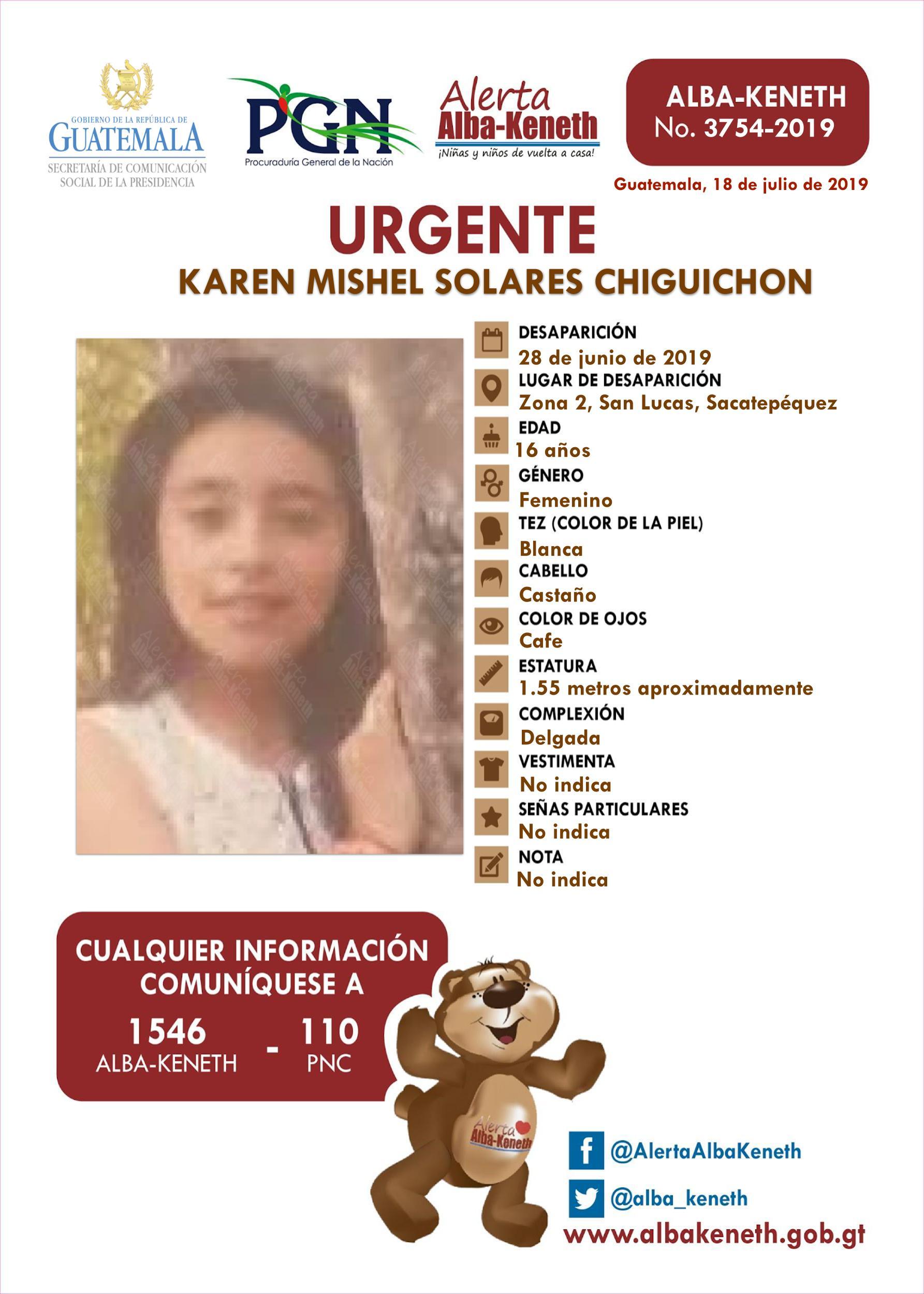 Karen Mishel Solares Chiguichon