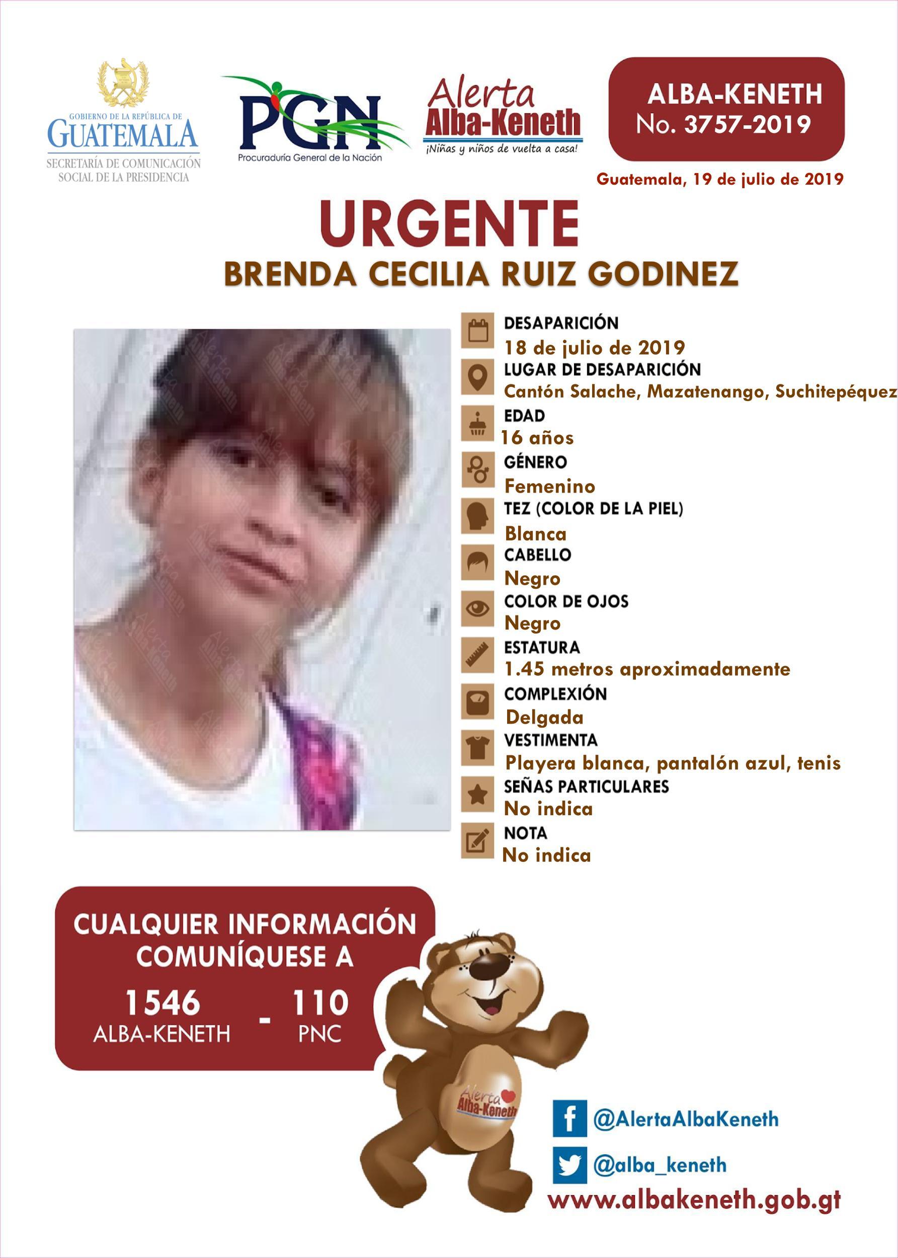 Brenda Cecilia Ruiz Godinez