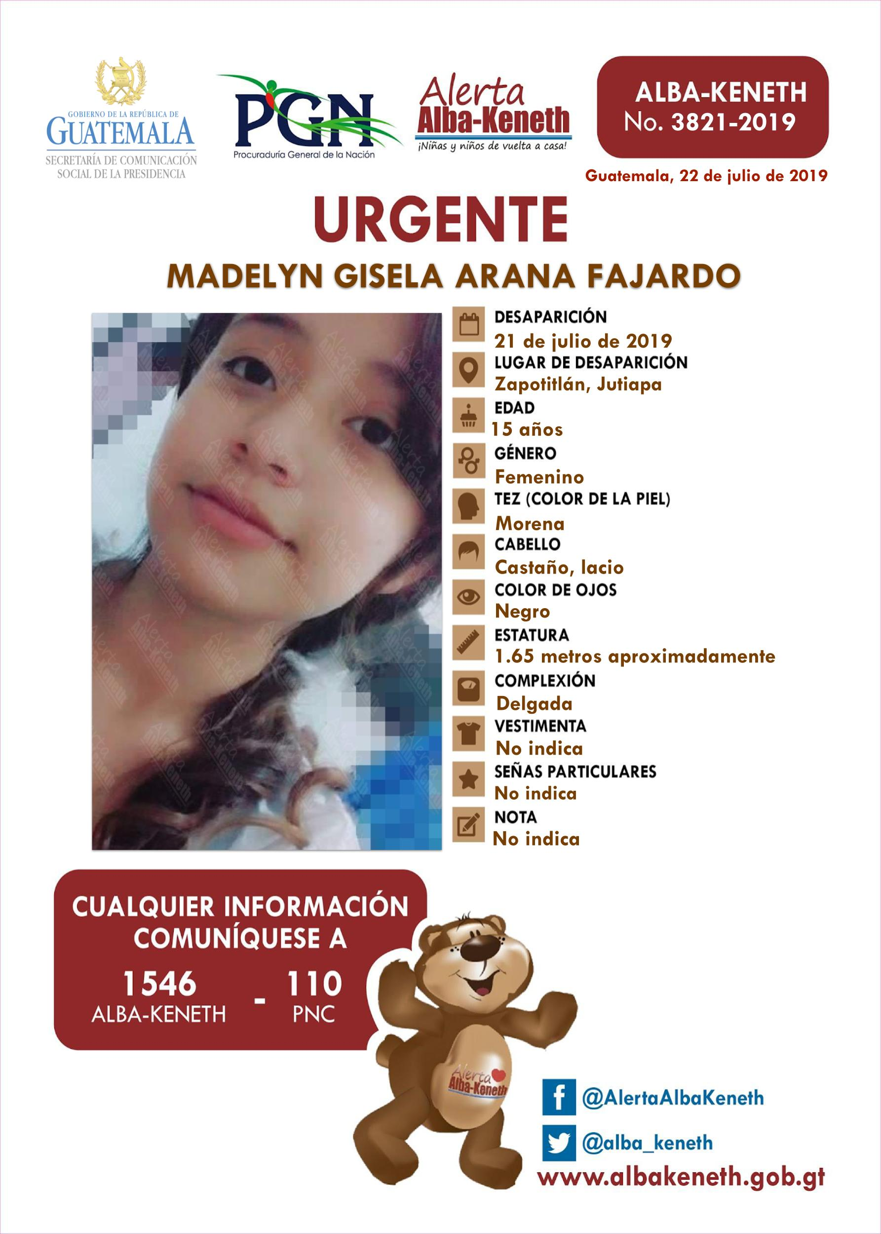Madelyn Gisela Arana Fajardo