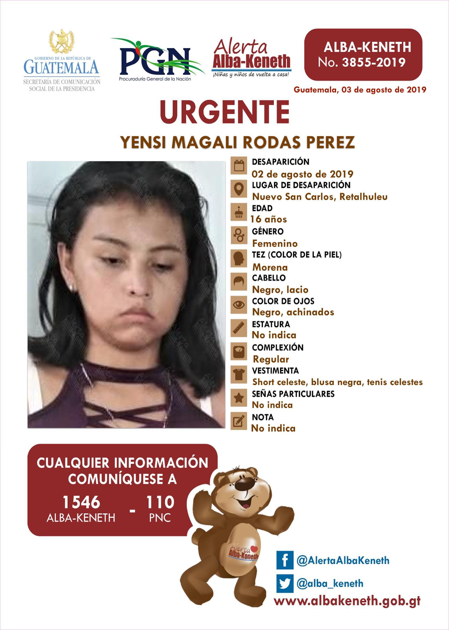 Yensi Magali Rodas Perez