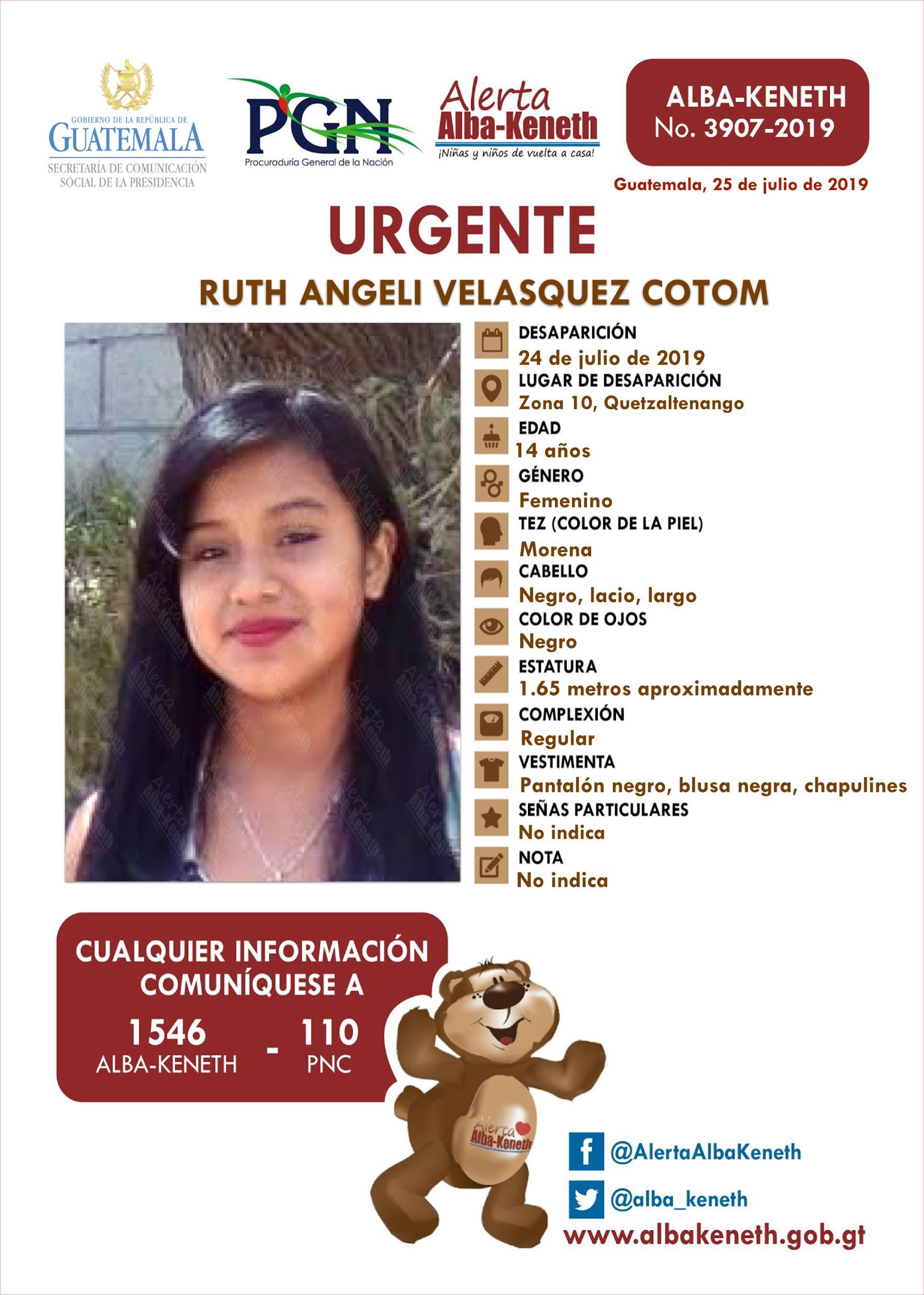 Ruth Angeli Velasquez Cotom