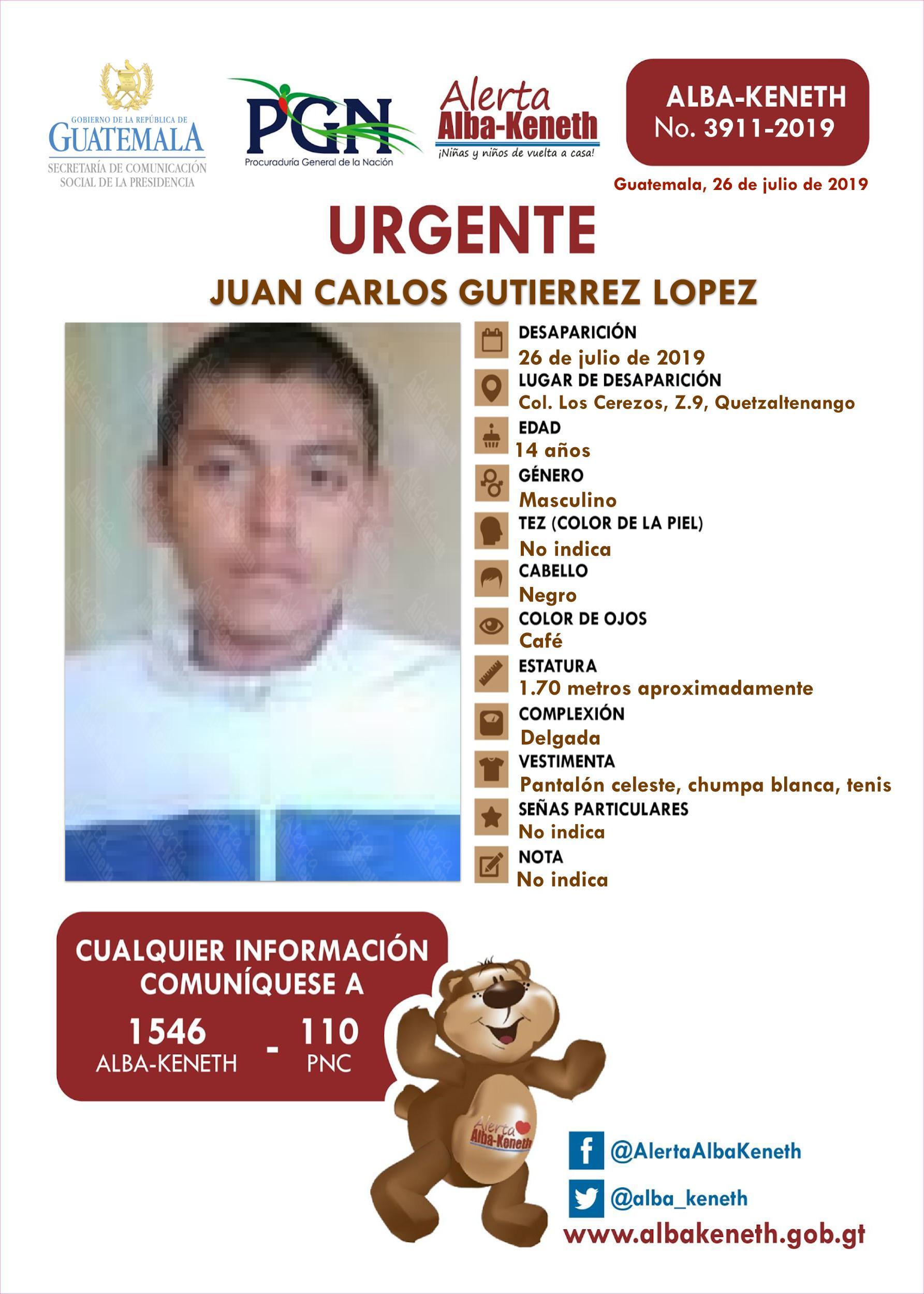 Juan Carlos Gutierrez Lopez