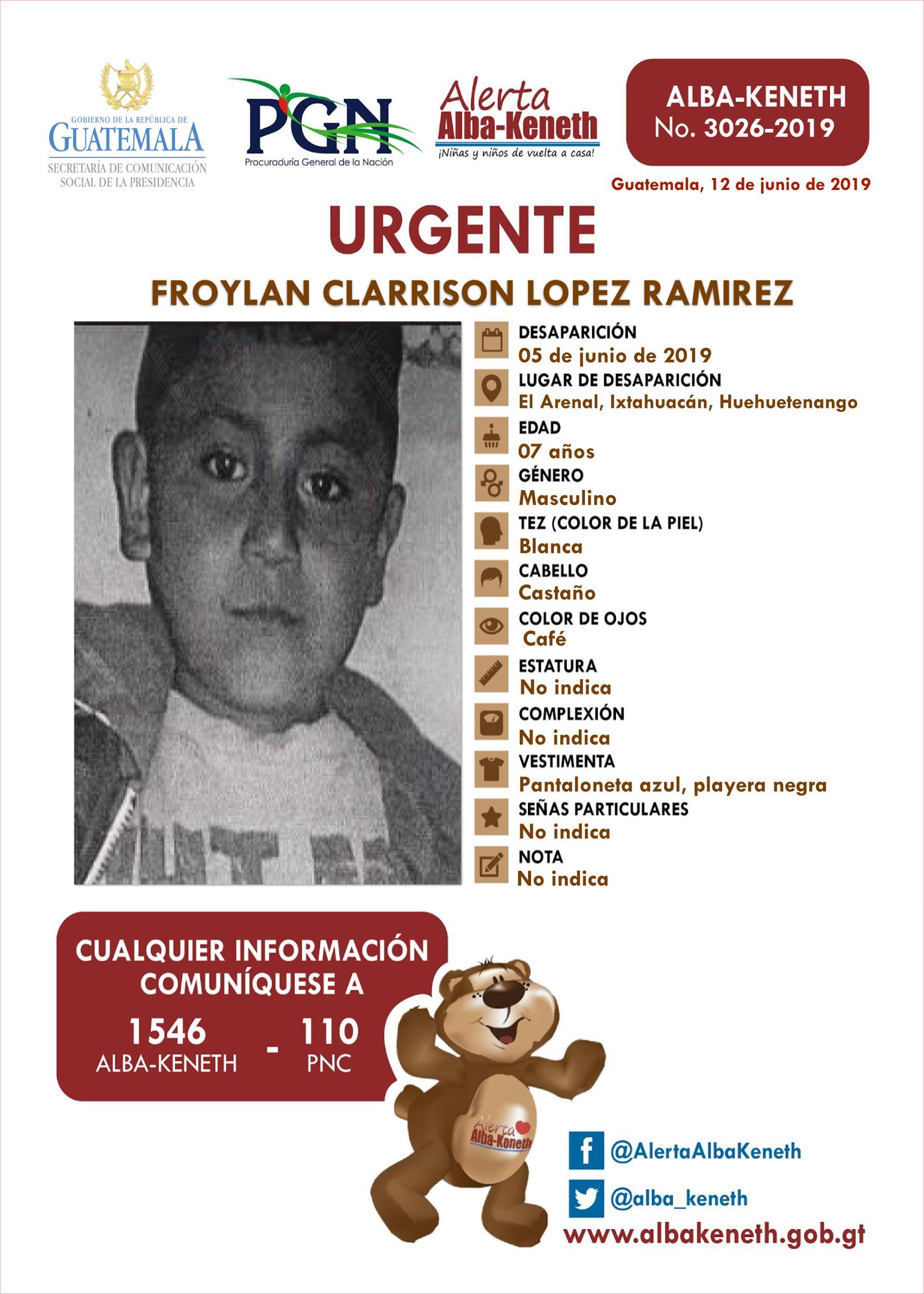 Froylan Clarrison Lopez Ramirez